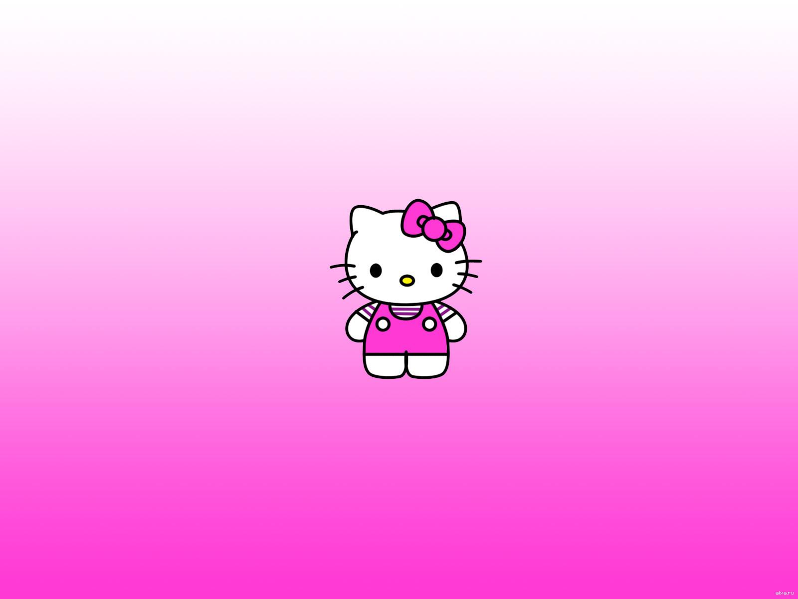 12785 скачать обои Hello Kitty, Рисунки, Бренды, Логотипы - заставки и картинки бесплатно