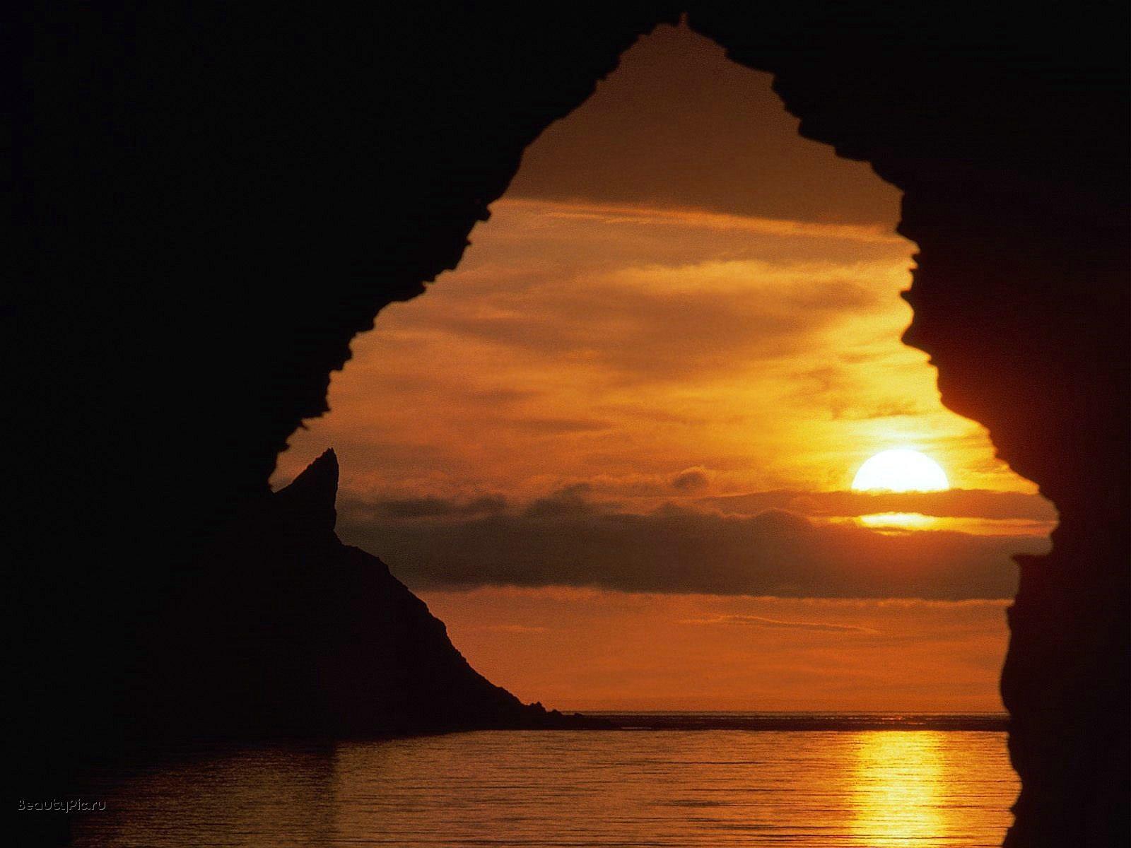8980 скачать обои Пейзаж, Закат, Небо, Море, Солнце - заставки и картинки бесплатно