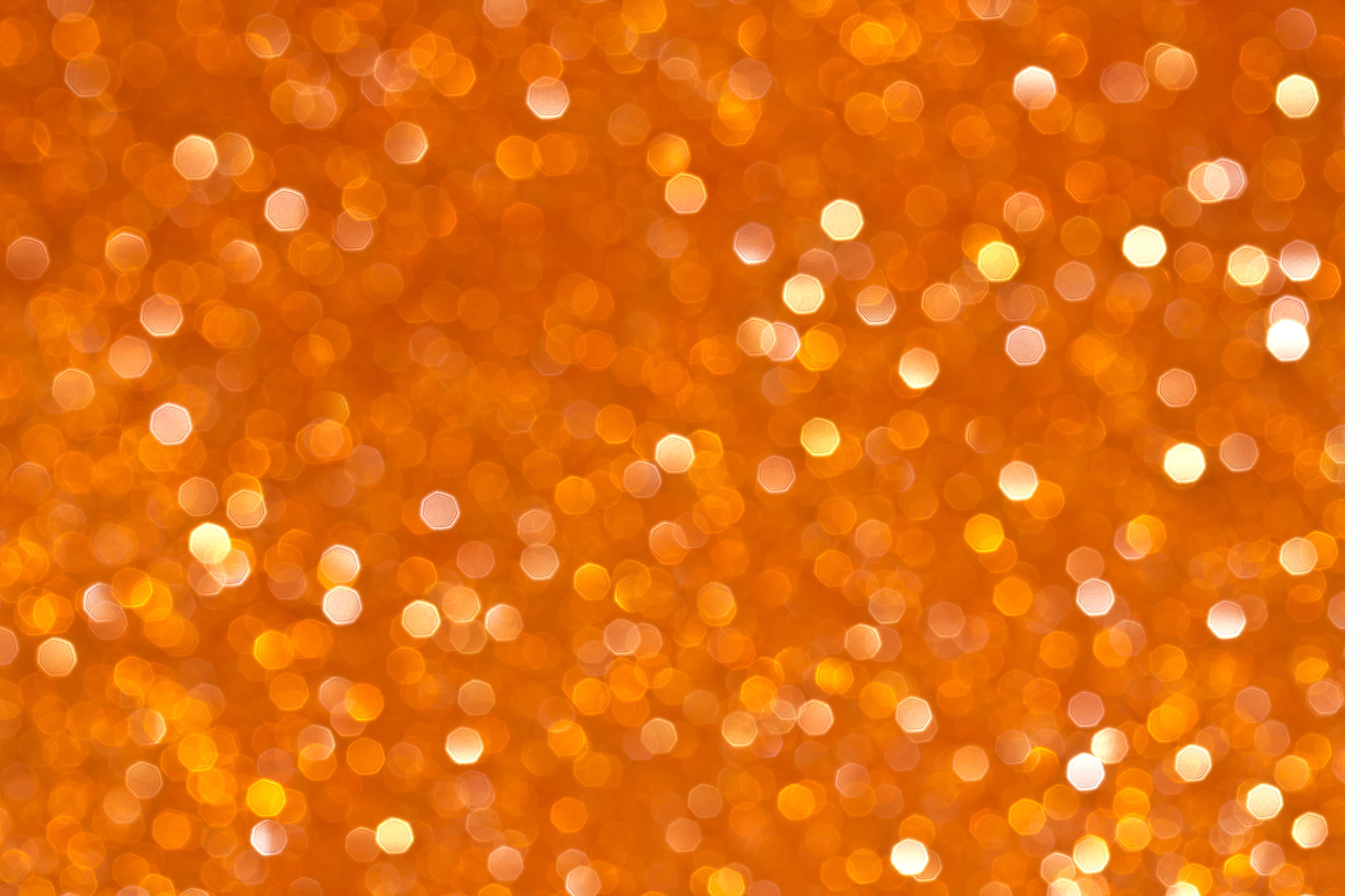 73761 скачать Оранжевые обои на телефон бесплатно, Блики, Текстуры, Блеск, Оранжевый, Боке Оранжевые картинки и заставки на мобильный