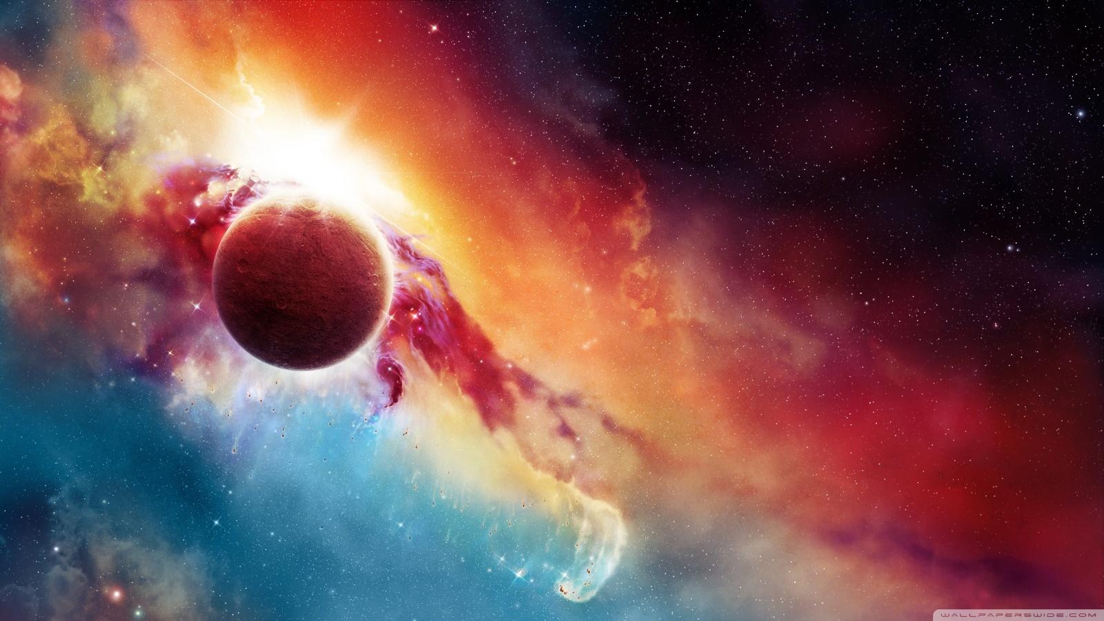 16565 скачать обои Пейзаж, Фон, Планеты, Космос, Звезды - заставки и картинки бесплатно