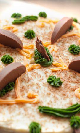 お使いの携帯電話の130584スクリーンセーバーと壁紙食品。 食品, ケーキ, 砂漠, 甘い, クリーム, チョコレートの写真を無料でダウンロード
