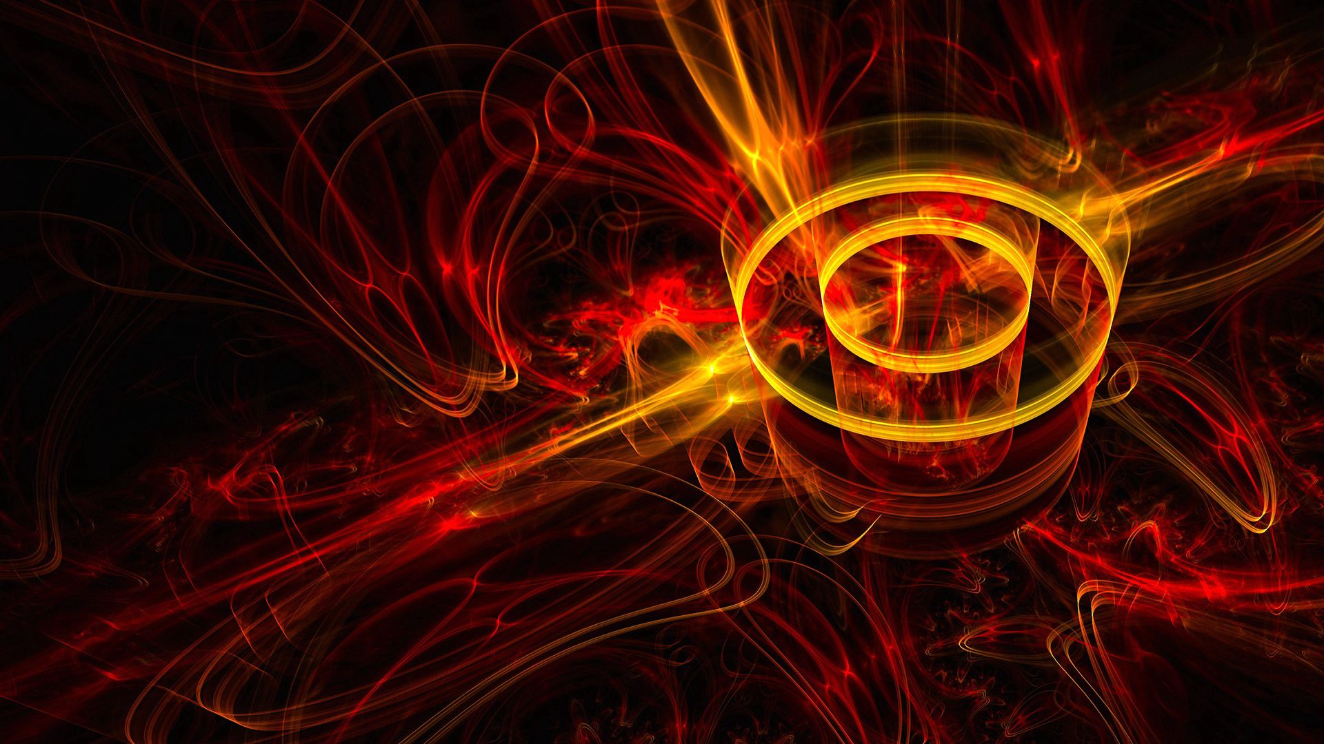 123979 download wallpaper Abstract, Fractal, Beams, Rays, Shine, Light screensavers and pictures for free