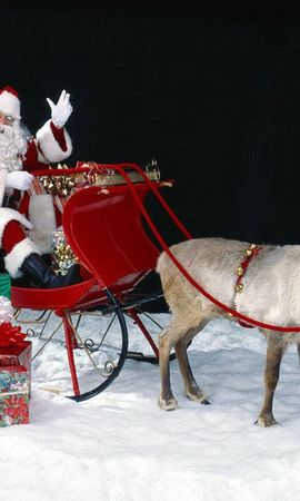 2211 télécharger le fond d'écran Fêtes, Nouvelle Année, Père-Noël, Père Noël, Noël - économiseurs d'écran et images gratuitement