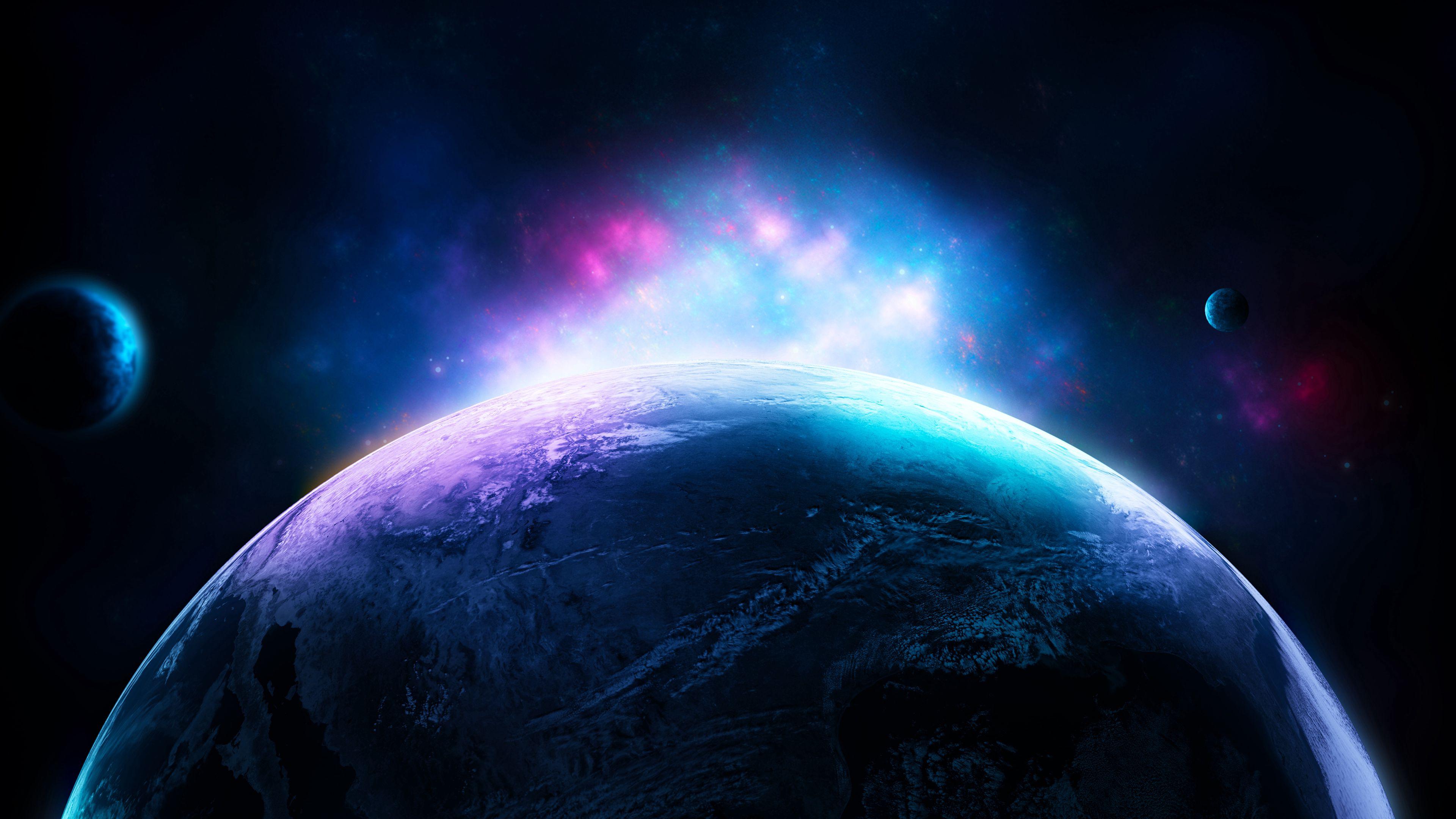 113642 免費下載壁紙 抽象, 领域, 球体, 闪耀, 光, 云, 云端, 辉光, 发光 屏保和圖片