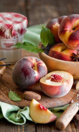 お使いの携帯電話の139872スクリーンセーバーと壁紙食品。 食品, 桃, スパイスの写真を無料でダウンロード