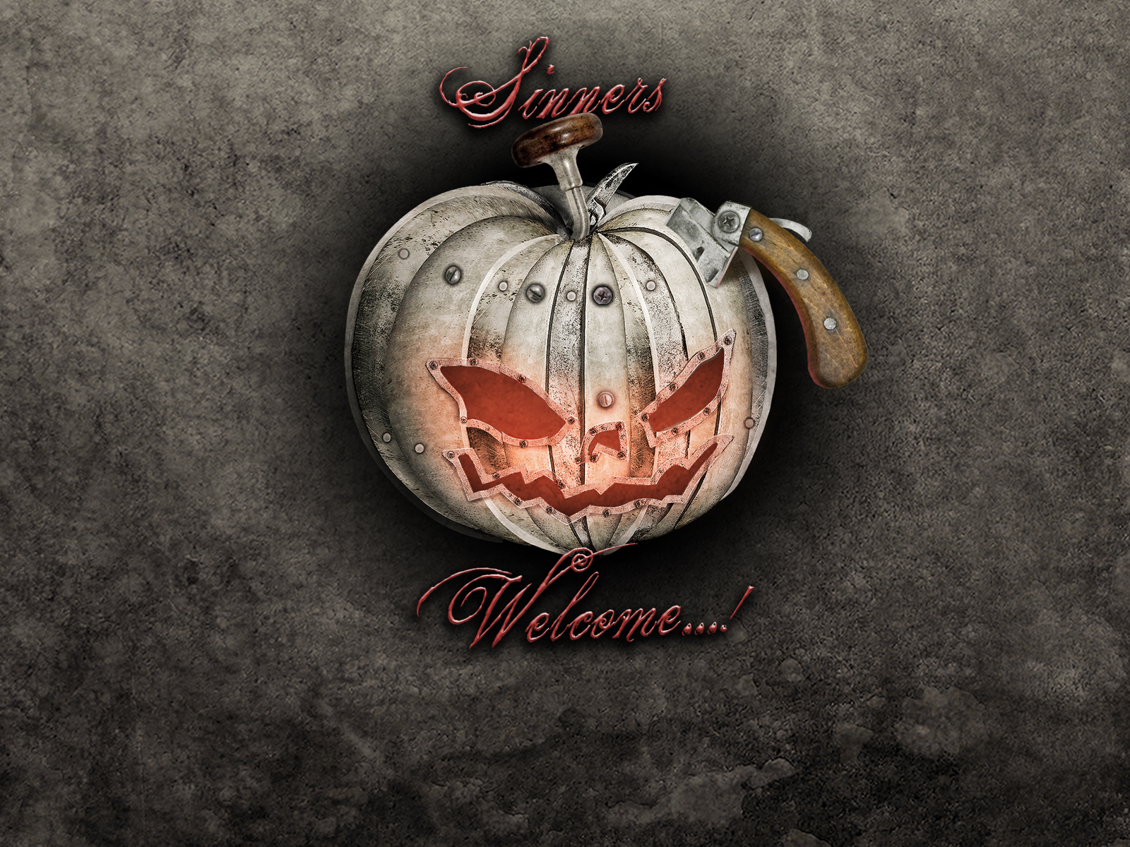 16392 download wallpaper Holidays, Art, Halloween, Pictures, Pumpkin screensavers and pictures for free