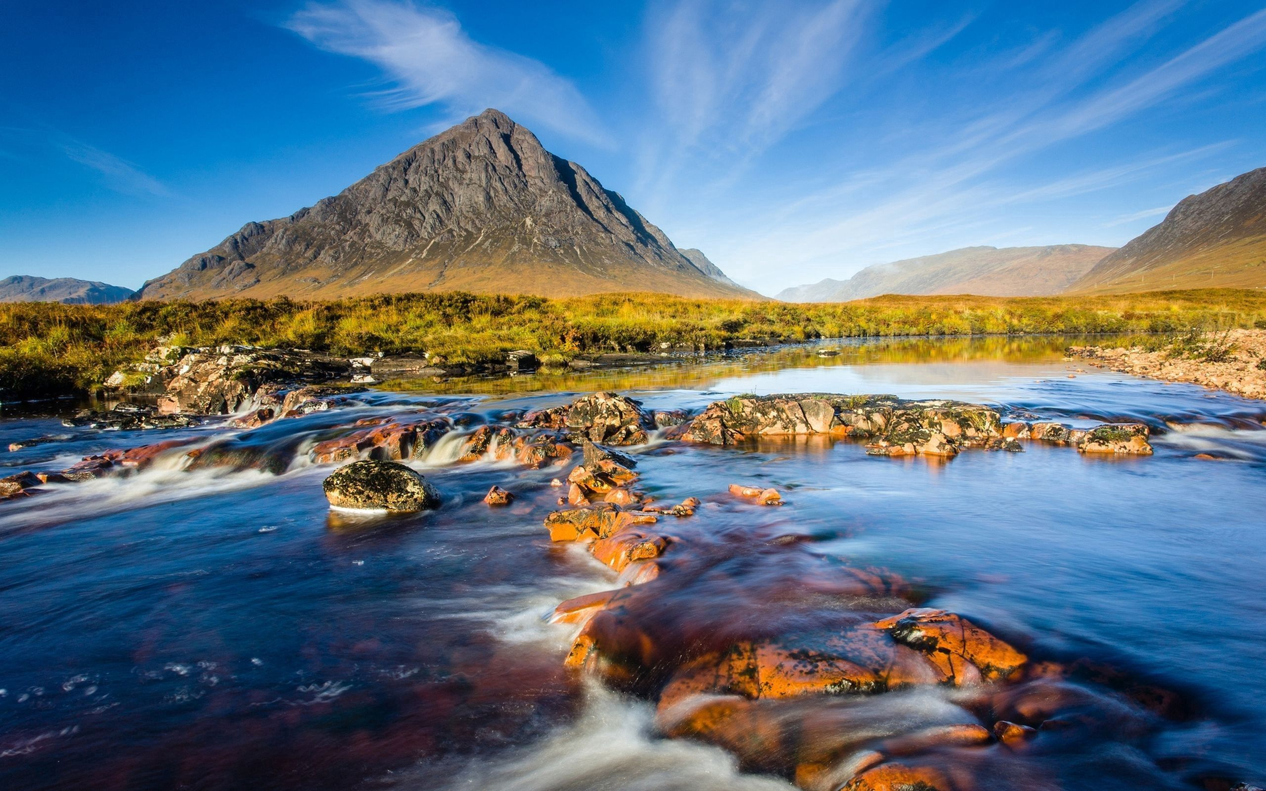 74408 download wallpaper Nature, Rivers, Sky, Mountain, Vertex, Top, Foam screensavers and pictures for free
