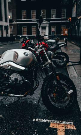 156009 télécharger le fond d'écran Moto, Bmw, Motocyclette, Bicyclette, Vélo, Vue De Côté, Parking - économiseurs d'écran et images gratuitement