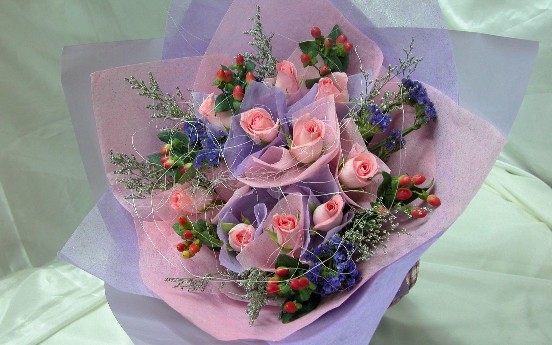 72139 скачать обои Розы, Цветы, Букет, Оформление, Нежность - заставки и картинки бесплатно