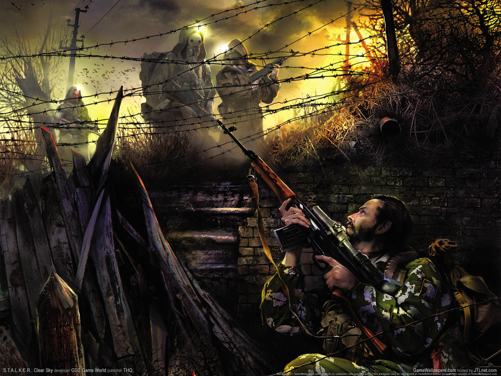 14660 download wallpaper Games, Men, S.t.a.l.k.e.r. screensavers and pictures for free