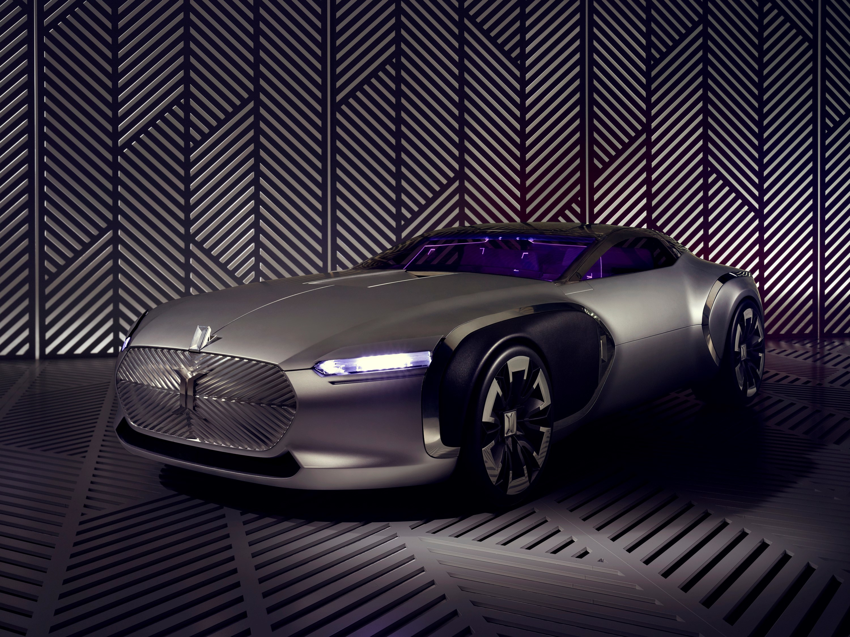 130139 Hintergrundbild herunterladen Renault, Cars, Vorderansicht, Frontansicht, Konzept, Corbusier - Bildschirmschoner und Bilder kostenlos