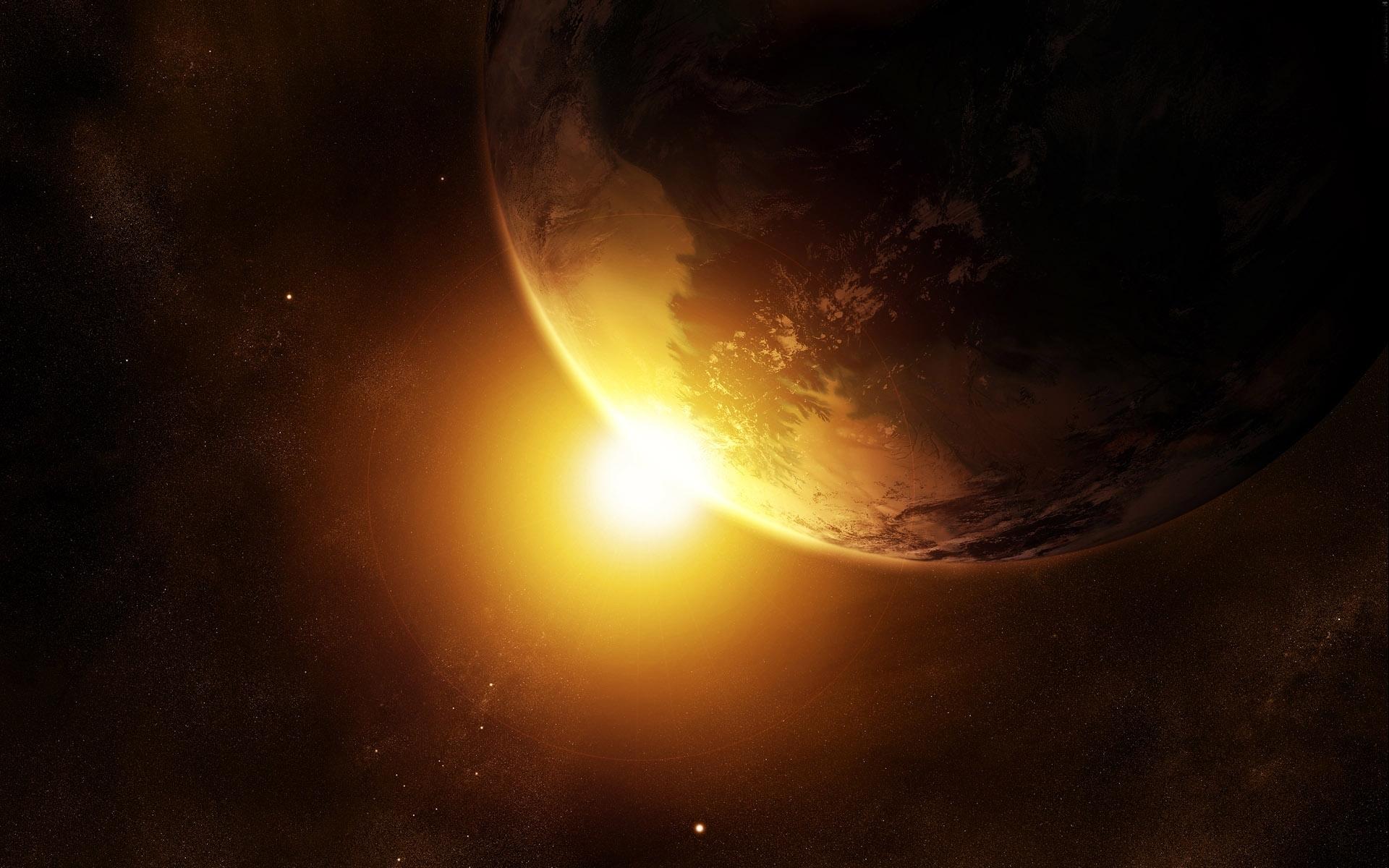 5305 скачать обои Пейзаж, Планеты, Космос, Солнце - заставки и картинки бесплатно