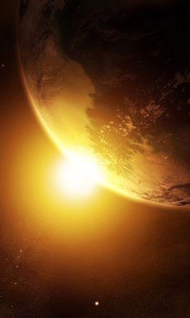 5305 télécharger le fond d'écran Paysage, Planètes, Univers, Sun - économiseurs d'écran et images gratuitement