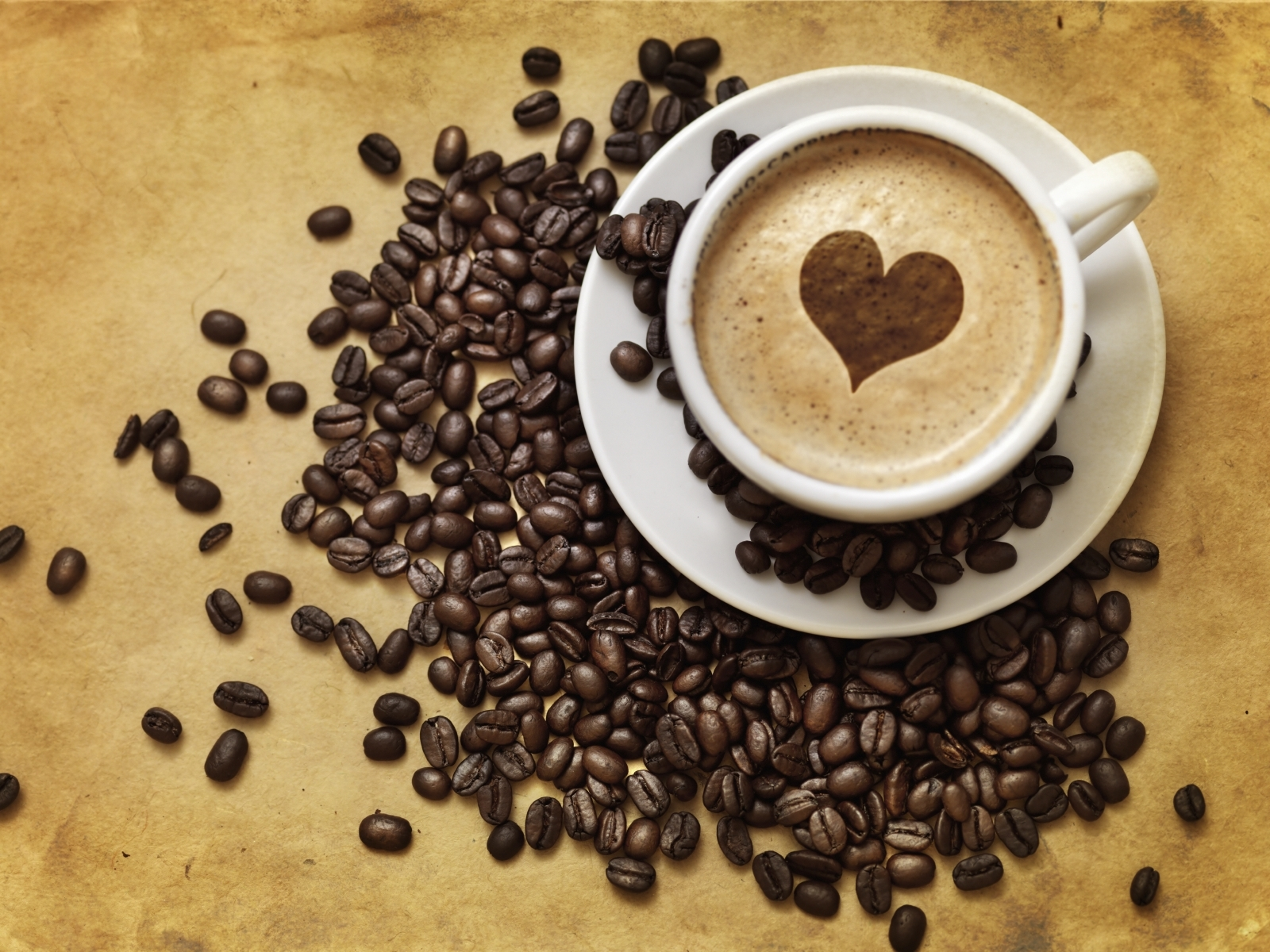 18688 download wallpaper Food, Hearts, Love, Valentine's Day, Drinks, Coffee screensavers and pictures for free