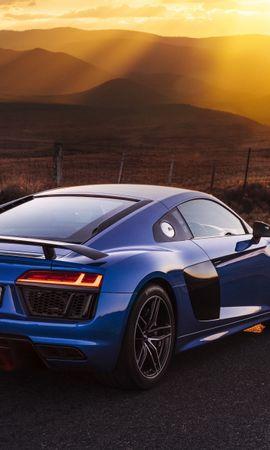 61924 télécharger le fond d'écran Voitures, Audi, R8, V10, Vue De Côté - économiseurs d'écran et images gratuitement