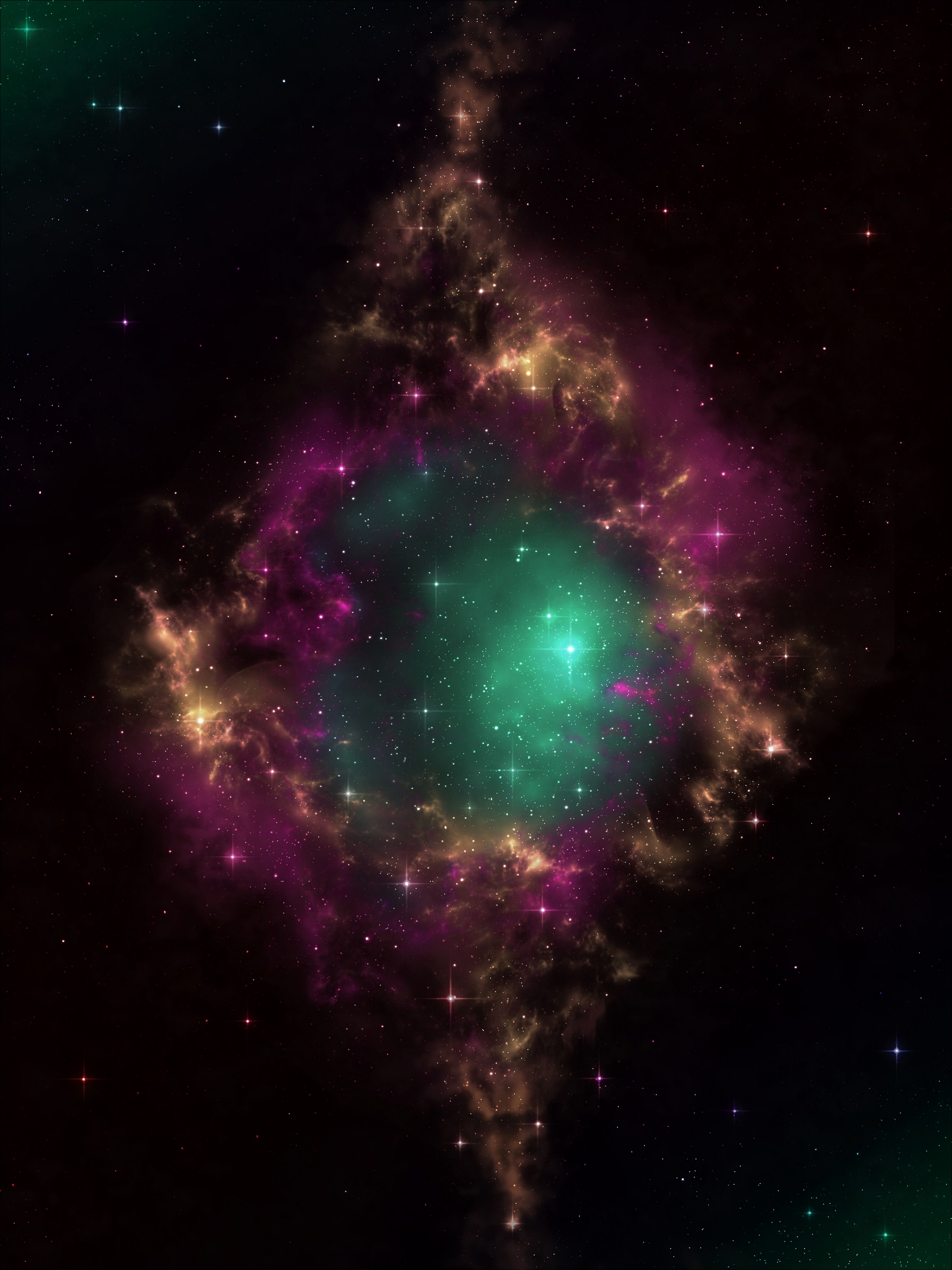 89268 download wallpaper Galaxy, Universe, Portal, Nebula, Congestion, Conglomeration, Open Space, Stars screensavers and pictures for free