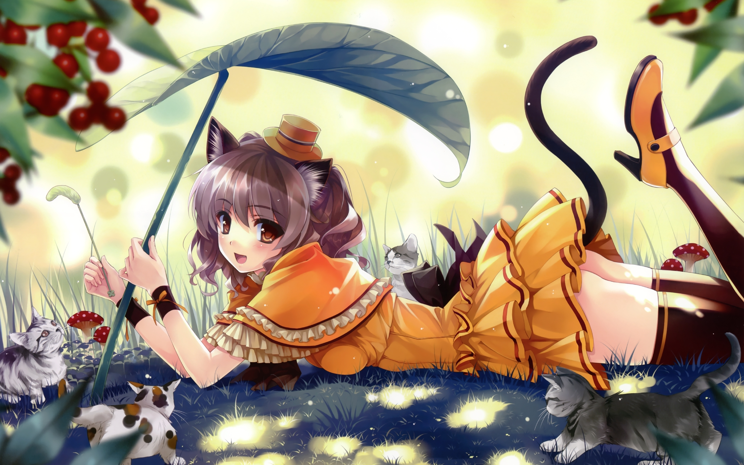 38962 download wallpaper Anime, Girls screensavers and pictures for free