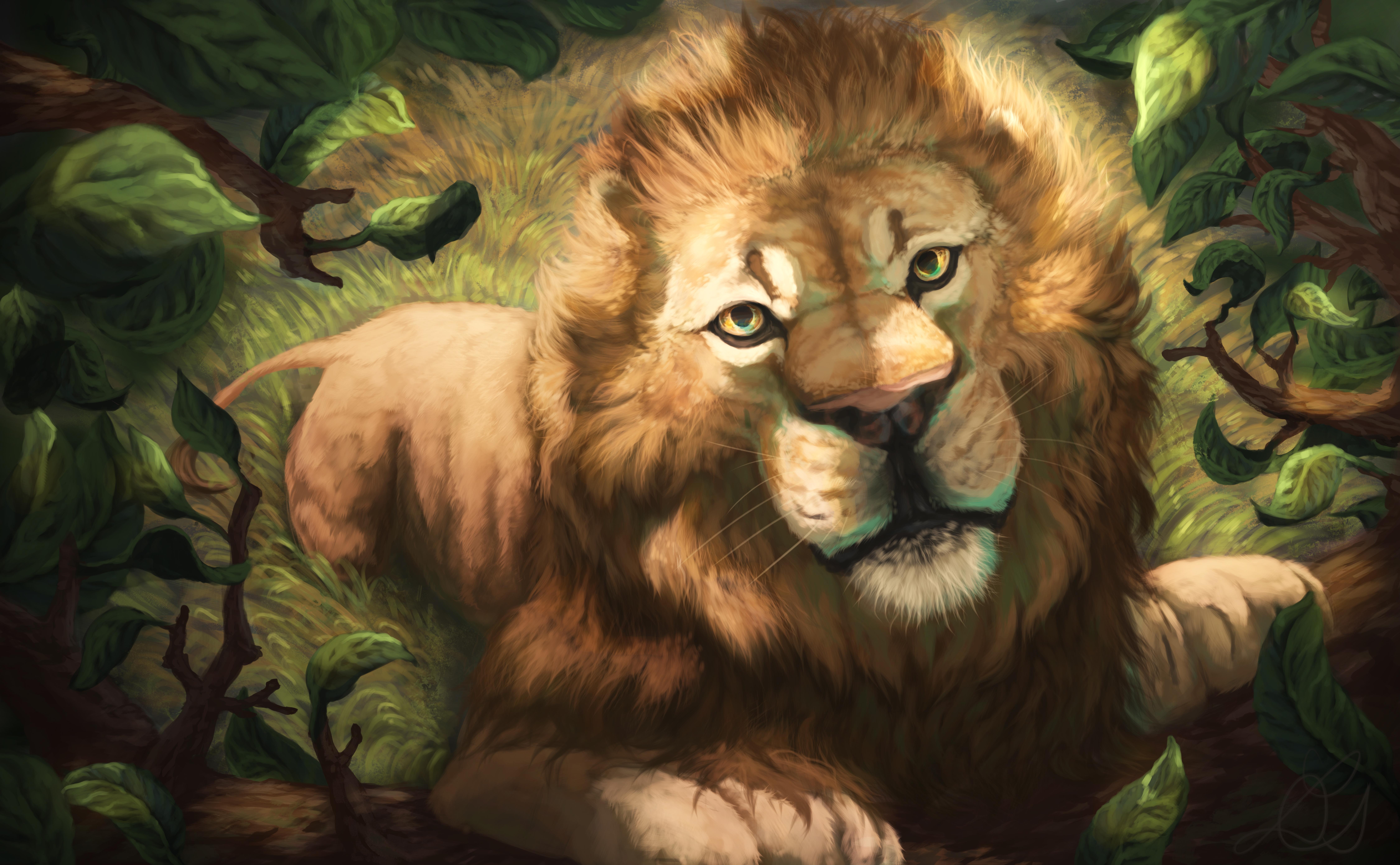 62848 baixar papel de parede Desenho, Arte, Leão, Focinho, Foto, Um Leão, Predator, Predador, Rei Das Feras, Rei Das Bestas - protetores de tela e imagens gratuitamente