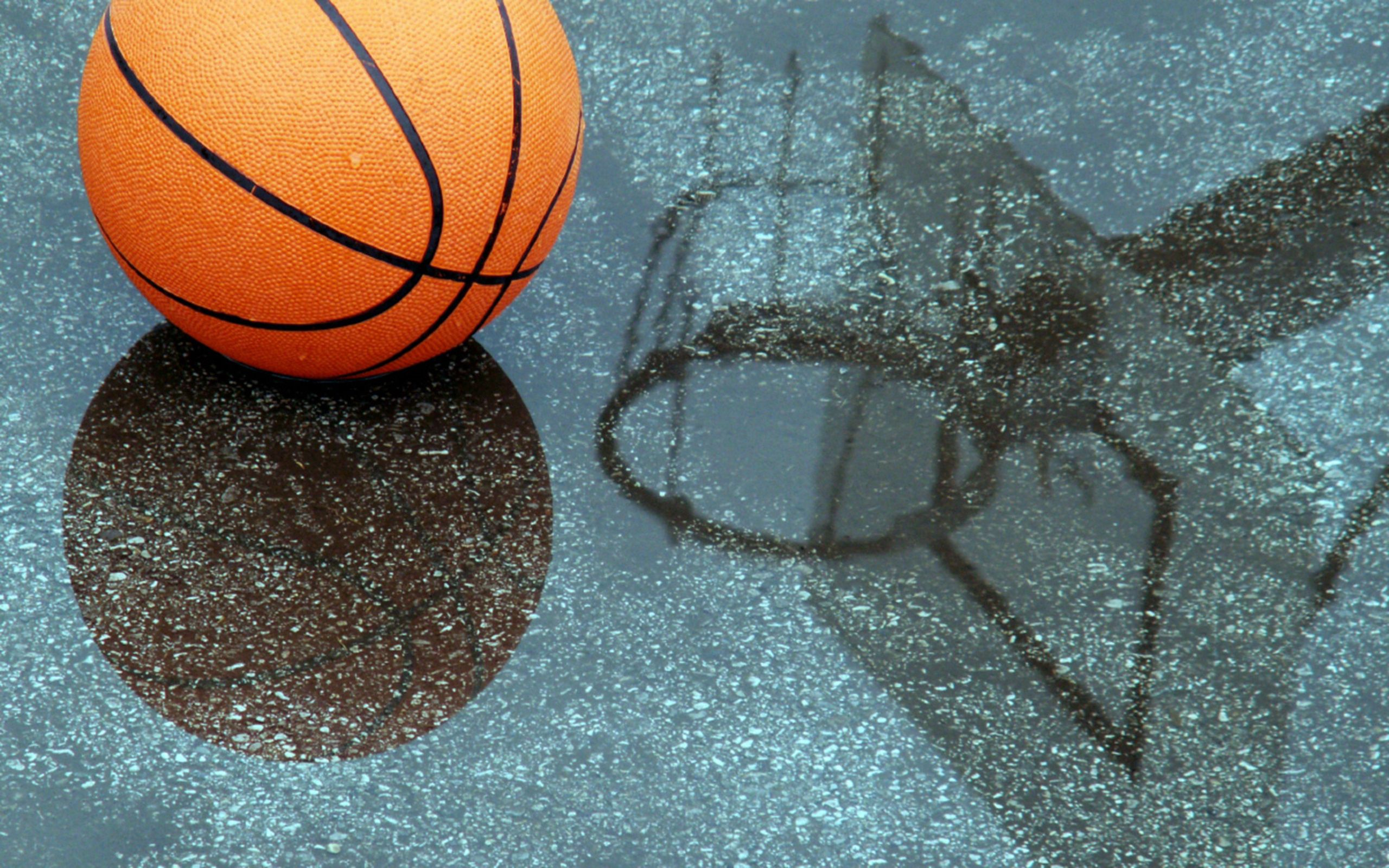 130088 Screensavers and Wallpapers Basketball for phone. Download Sports, Basketball, Puddle, Reflection pictures for free