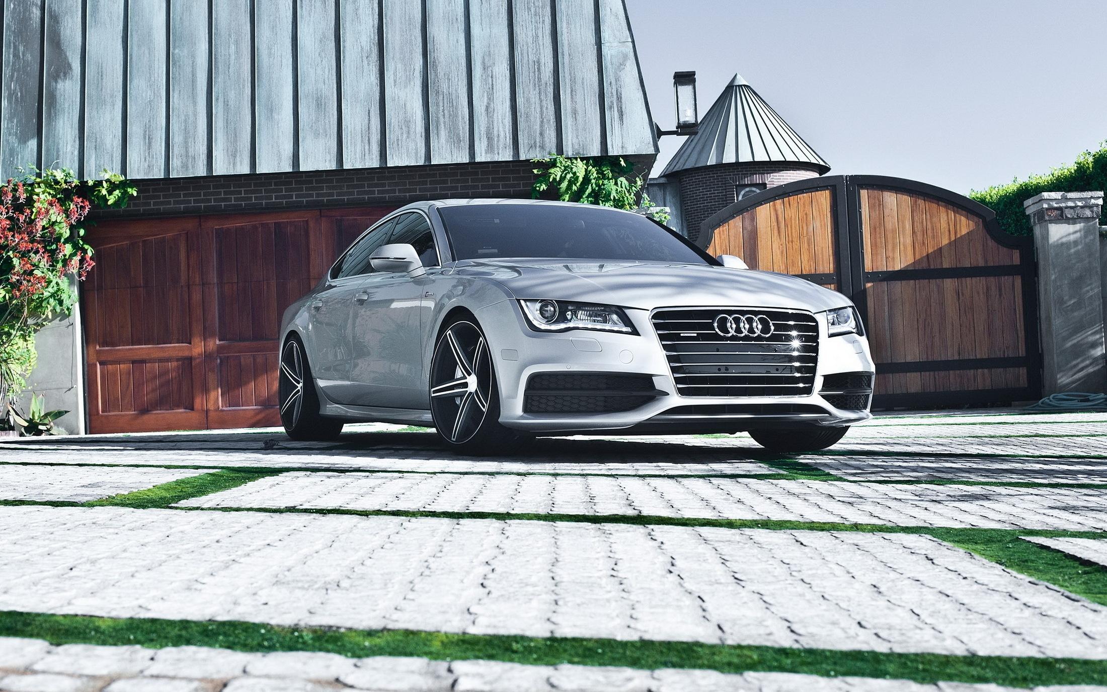 137853 скачать обои Тачки (Cars), Гараж, Ауди (Audi), Машины, Audi A7, Car - заставки и картинки бесплатно