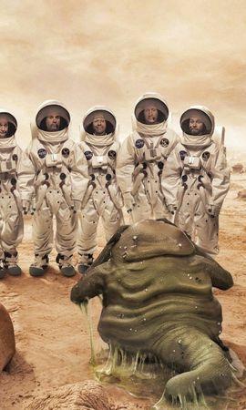23111 скачать обои Люди, Фэнтези, Инопланетяне, Нло (Extraterrestrials, Ufo) - заставки и картинки бесплатно