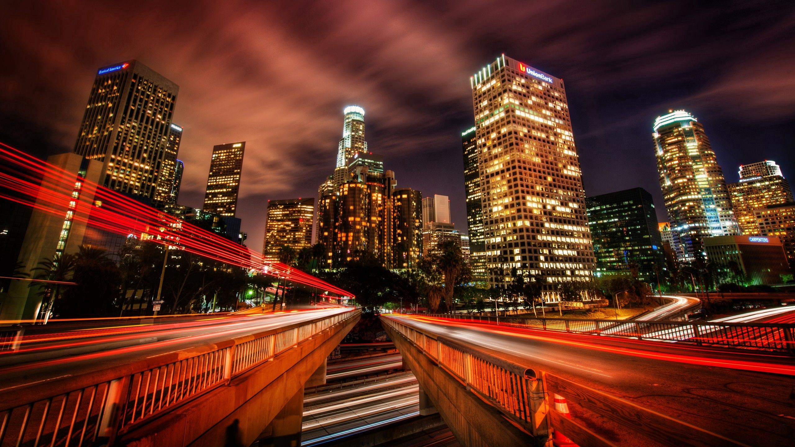 83203 Screensavers and Wallpapers Hdr for phone. Download Cities, Night, City, Traffic, Movement, Skyscrapers, Speed, Hdr, Los Angeles pictures for free