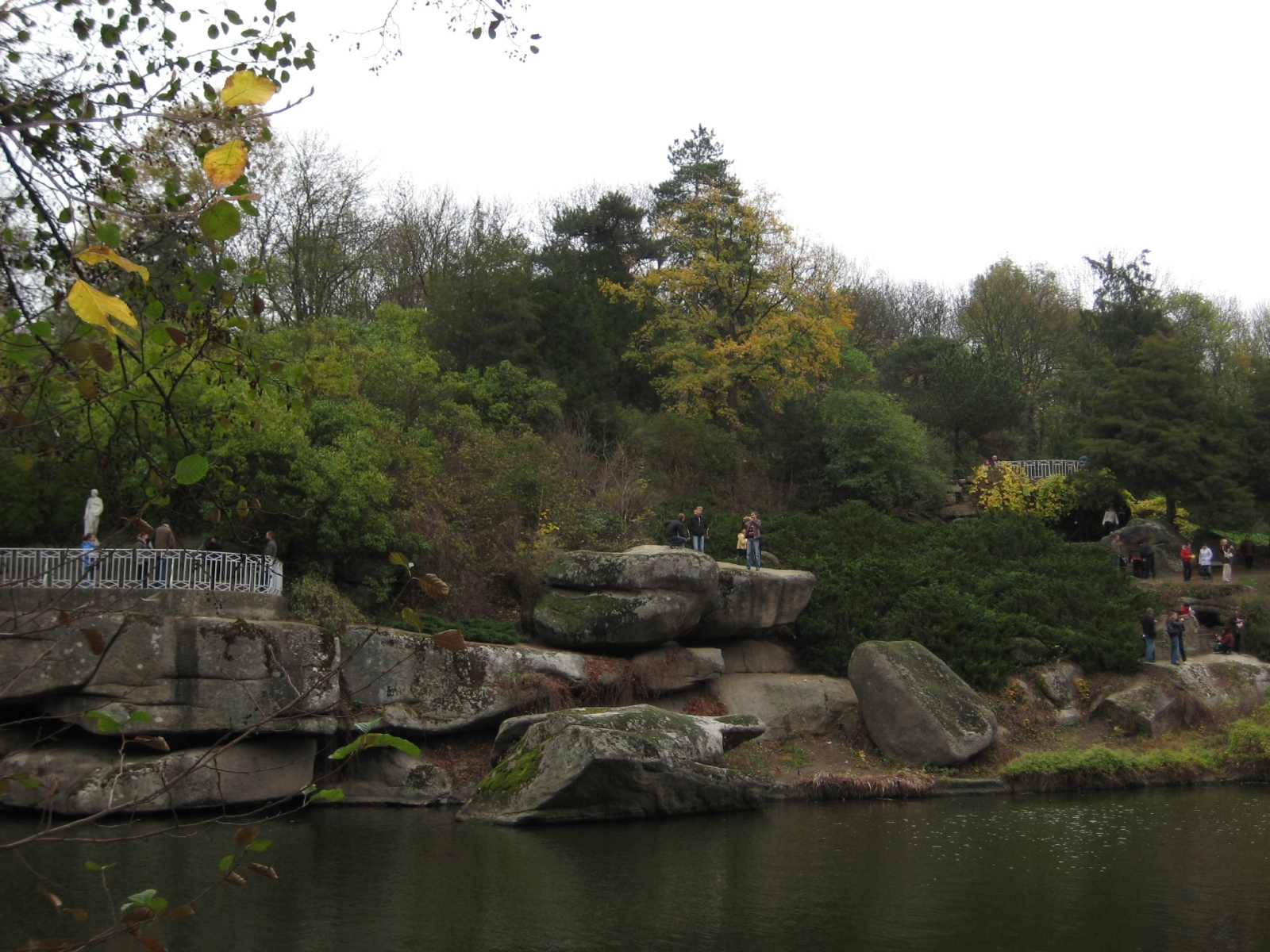 1018 download wallpaper Landscape, Water, Trees, Stones screensavers and pictures for free