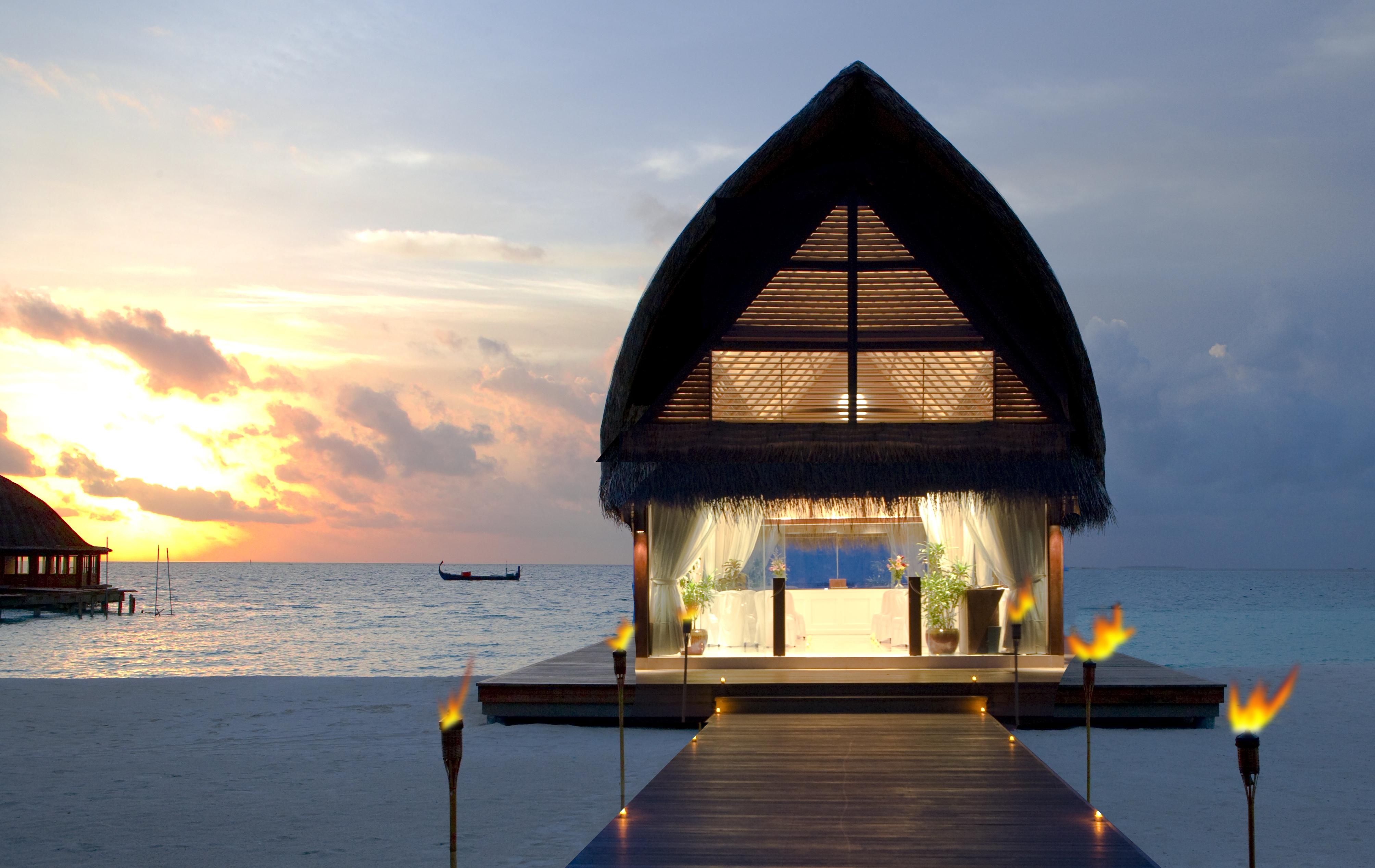 145994 скачать обои Природа, Мальдивы, Пляж, Тропики, Море, Песок, Бунгало - заставки и картинки бесплатно
