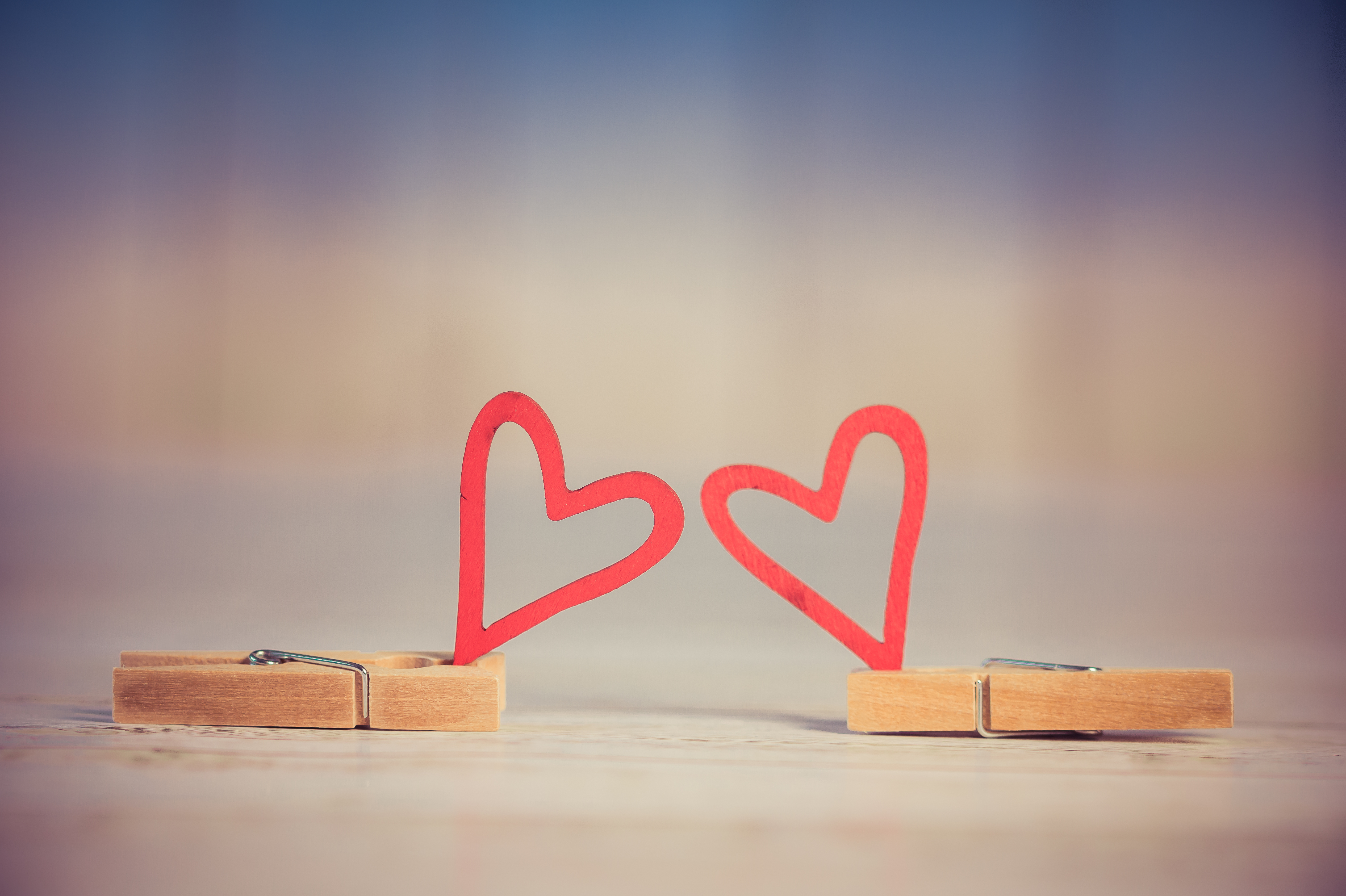 50807 Screensavers and Wallpapers Hearts for phone. Download Hearts, Love, Macro, Clothespins pictures for free