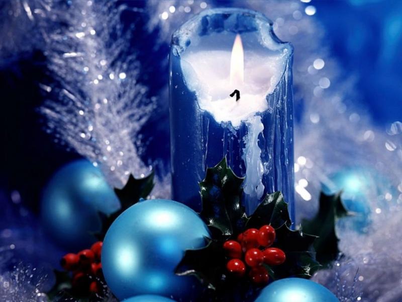 41609 descargar fondo de pantalla Año Nuevo, Objetos, Velas: protectores de pantalla e imágenes gratis
