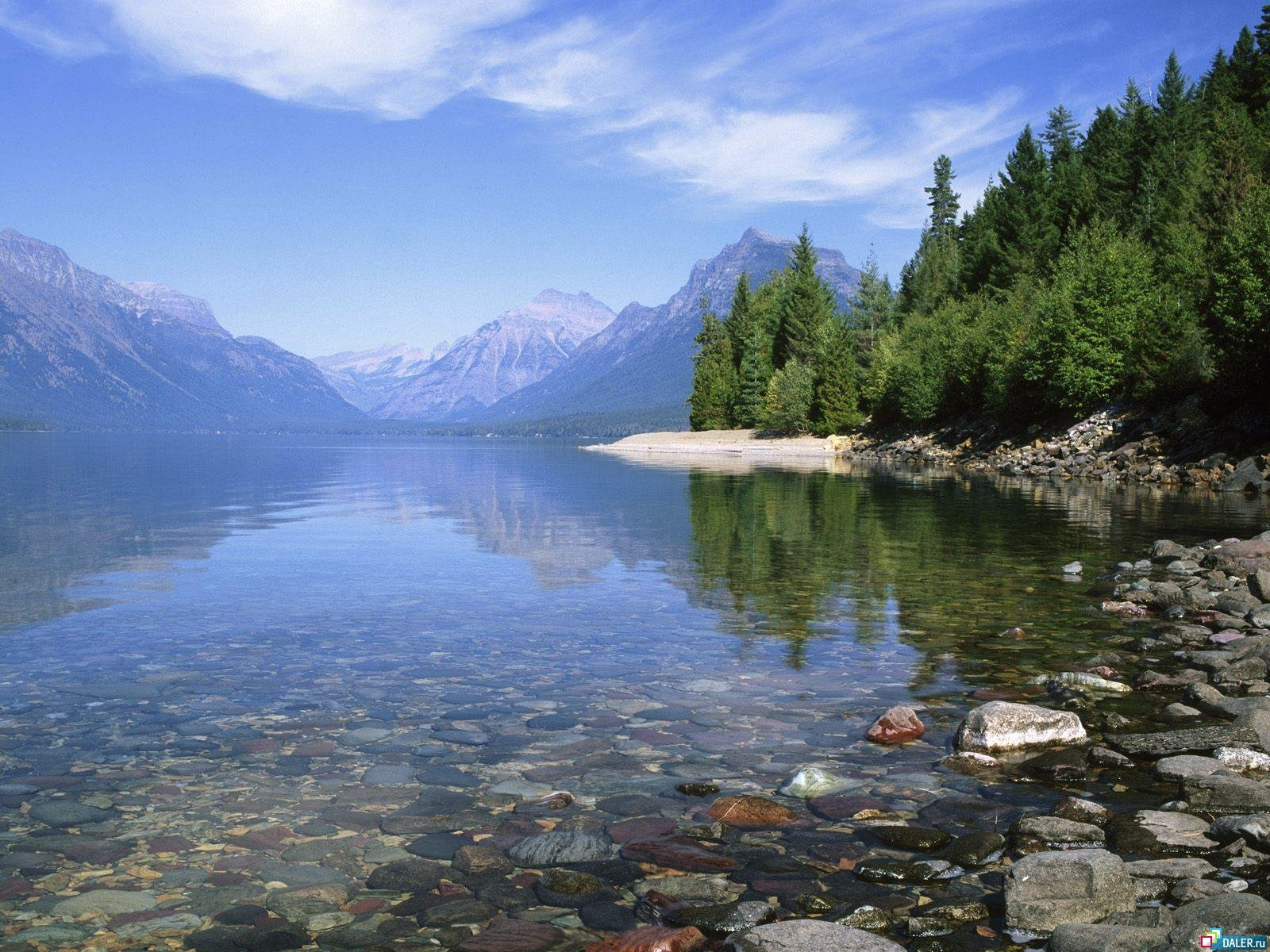 8744 download wallpaper Landscape, Water, Stones, Lakes screensavers and pictures for free