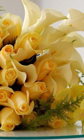 33851 скачать обои Растения, Цветы, Розы, Букеты - заставки и картинки бесплатно