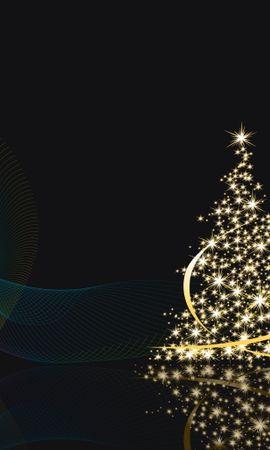 28586 descargar fondo de pantalla Vacaciones, Fondo, Año Nuevo, Navidad: protectores de pantalla e imágenes gratis
