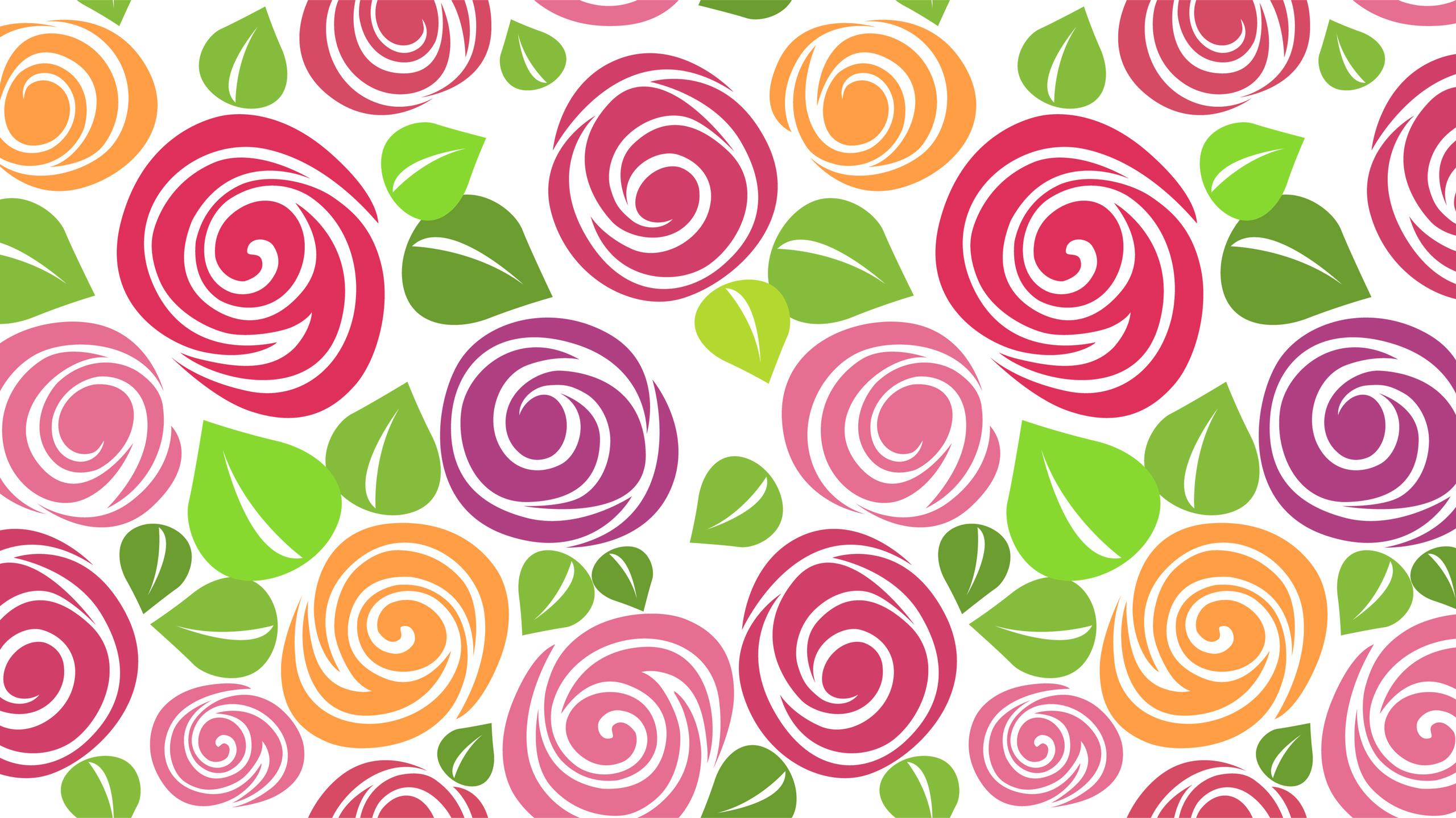 14443 скачать обои Цветы, Фон, Рисунки - заставки и картинки бесплатно