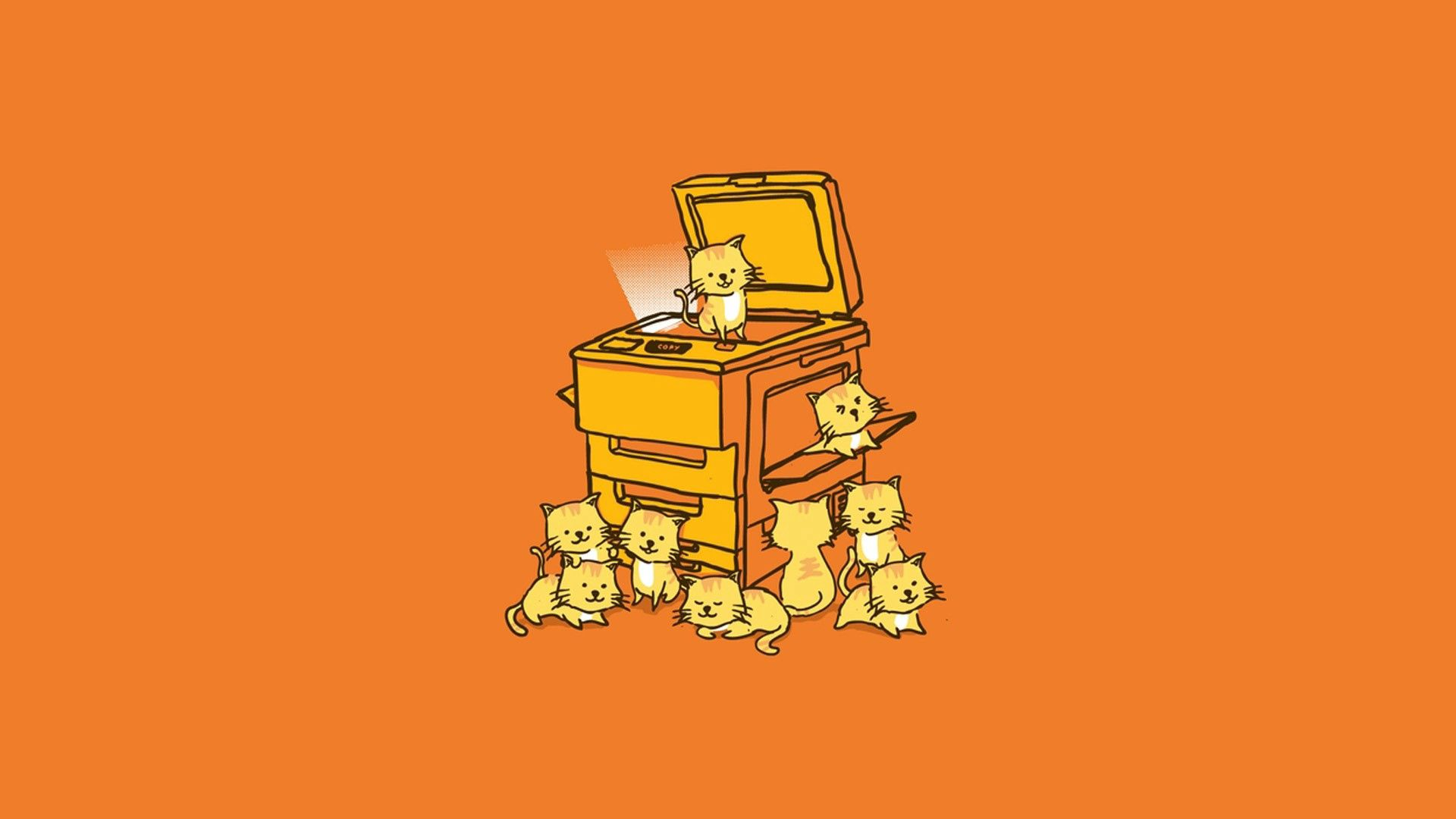 133884 Screensavers and Wallpapers Kittens for phone. Download Vector, Lot, Happiness, Kittens, Printer pictures for free