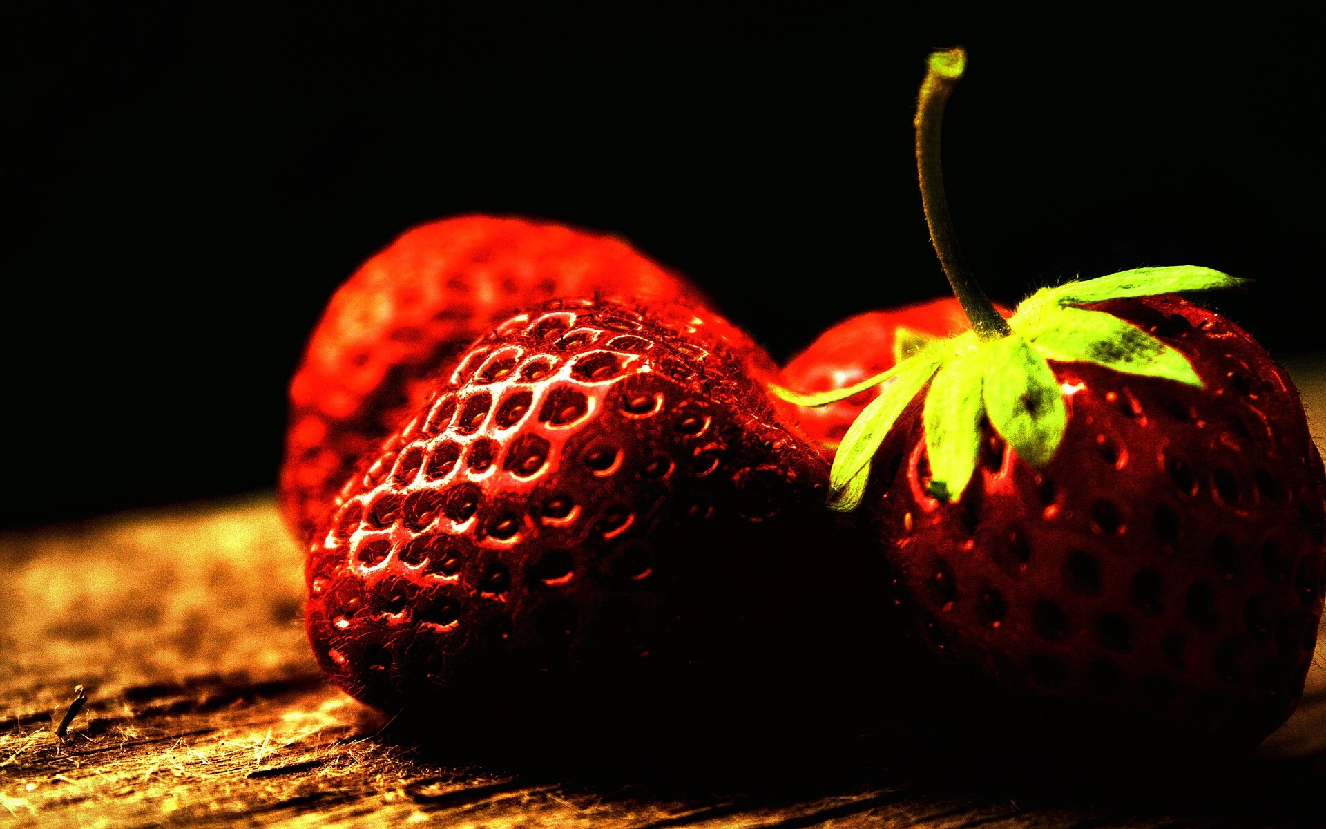 2067 download wallpaper Plants, Fruits, Food, Strawberry, Berries screensavers and pictures for free
