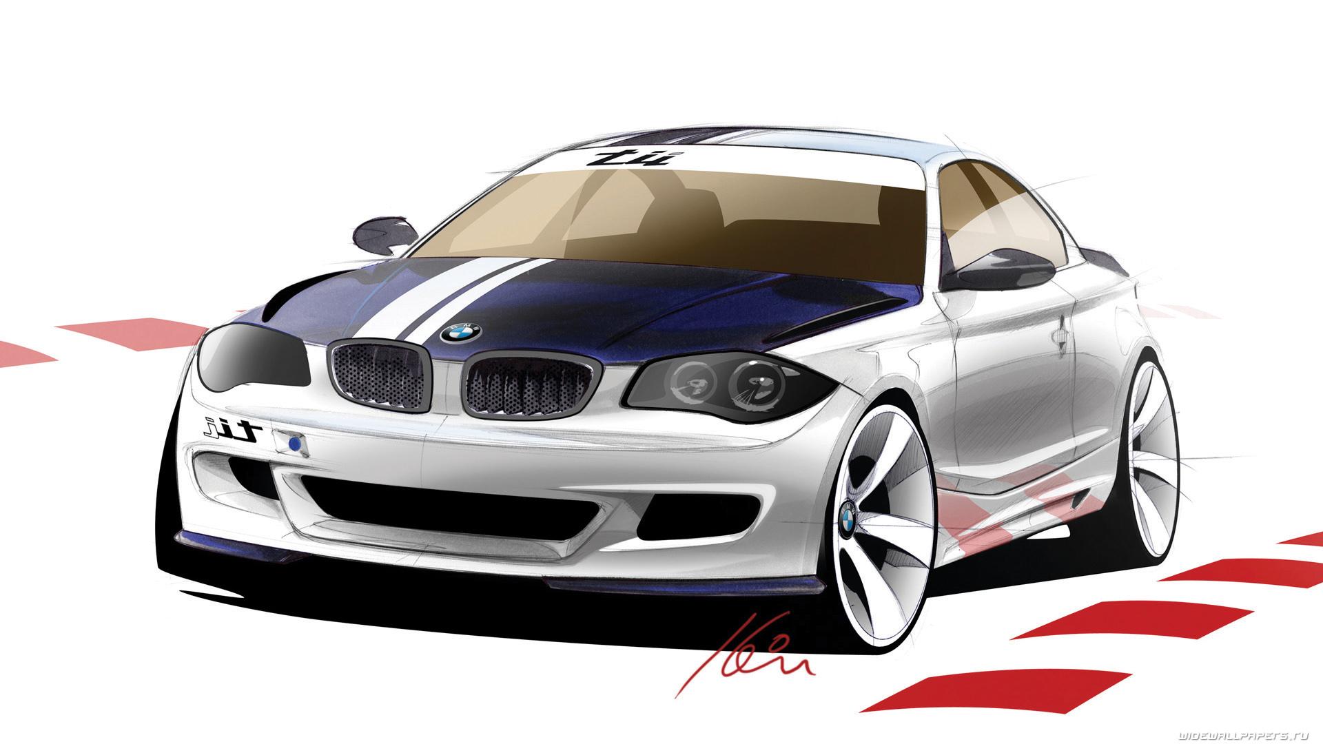 12542 скачать обои Транспорт, Машины, Бмв (Bmw), Рисунки - заставки и картинки бесплатно