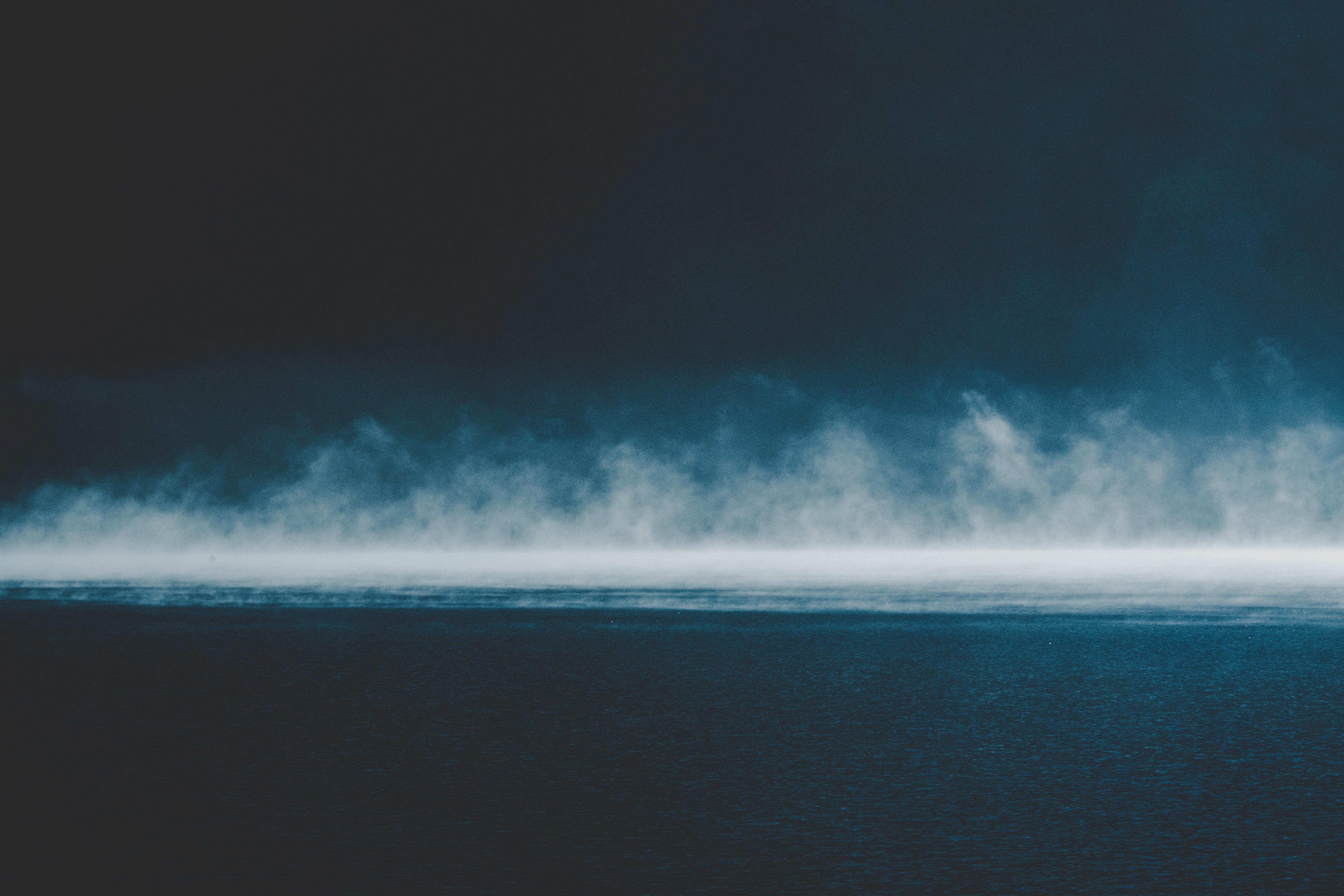 155836 fond d'écran 720x1280 sur votre téléphone gratuitement, téléchargez des images Nature, Sky, Mer, Nuages, Horizon, Brouillard, Plutôt Nuageux, Couvert 720x1280 sur votre mobile