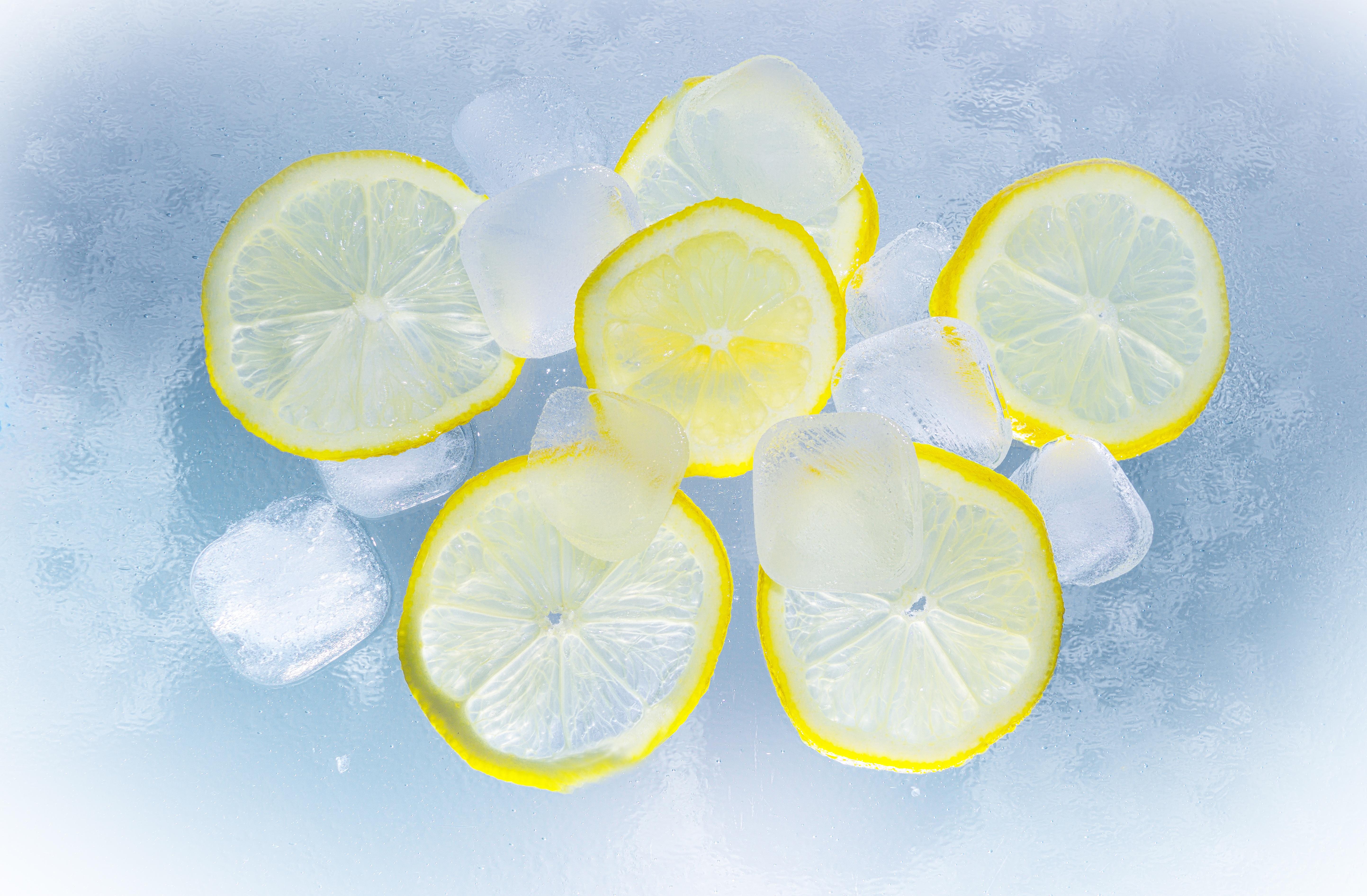 124701 Заставки и Обои Лед на телефон. Скачать Лед, Лимоны, Еда, Цитрус картинки бесплатно