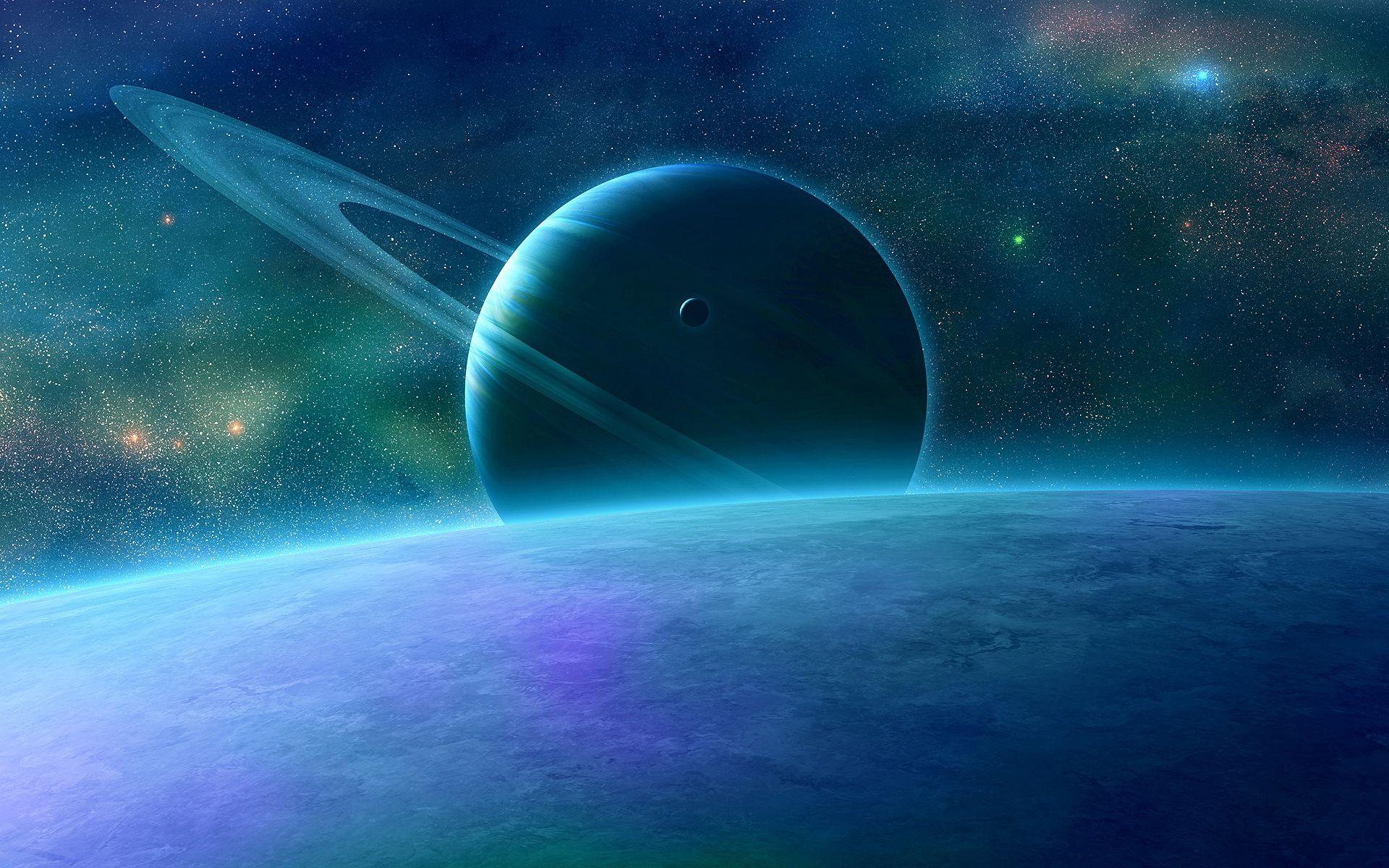 114912壁紙のダウンロード惑星, スカイ, 宇宙, リング-スクリーンセーバーと写真を無料で
