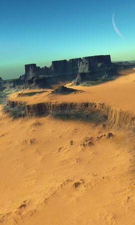 24938 скачать обои Пейзаж, Горы, Песок, Пустыня - заставки и картинки бесплатно