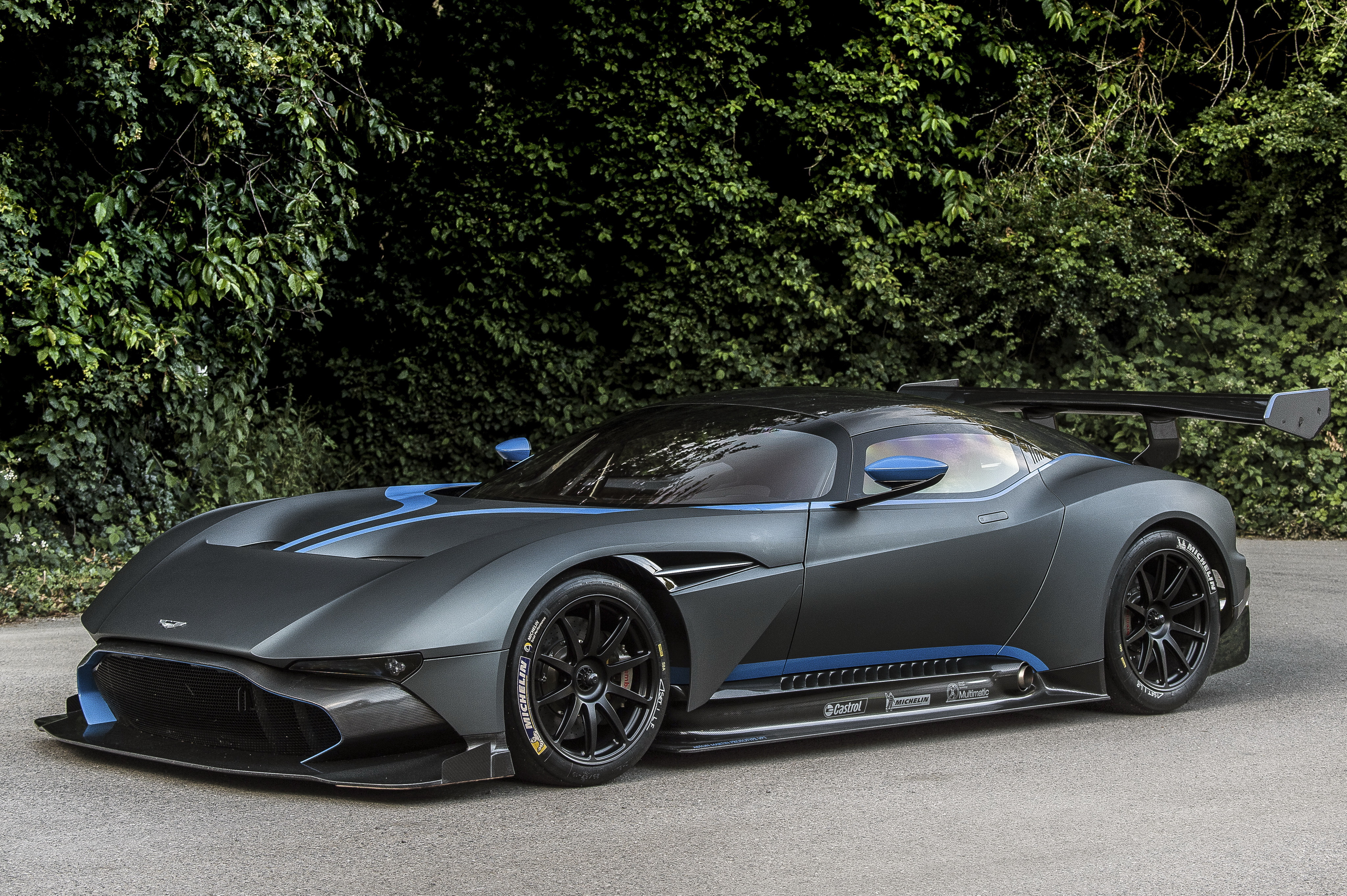 151022 download wallpaper Aston Martin, Cars, Side View, Vulcan screensavers and pictures for free