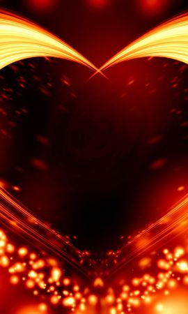 Free wallpaper 42993: Background, Hearts download pictures for cellphone