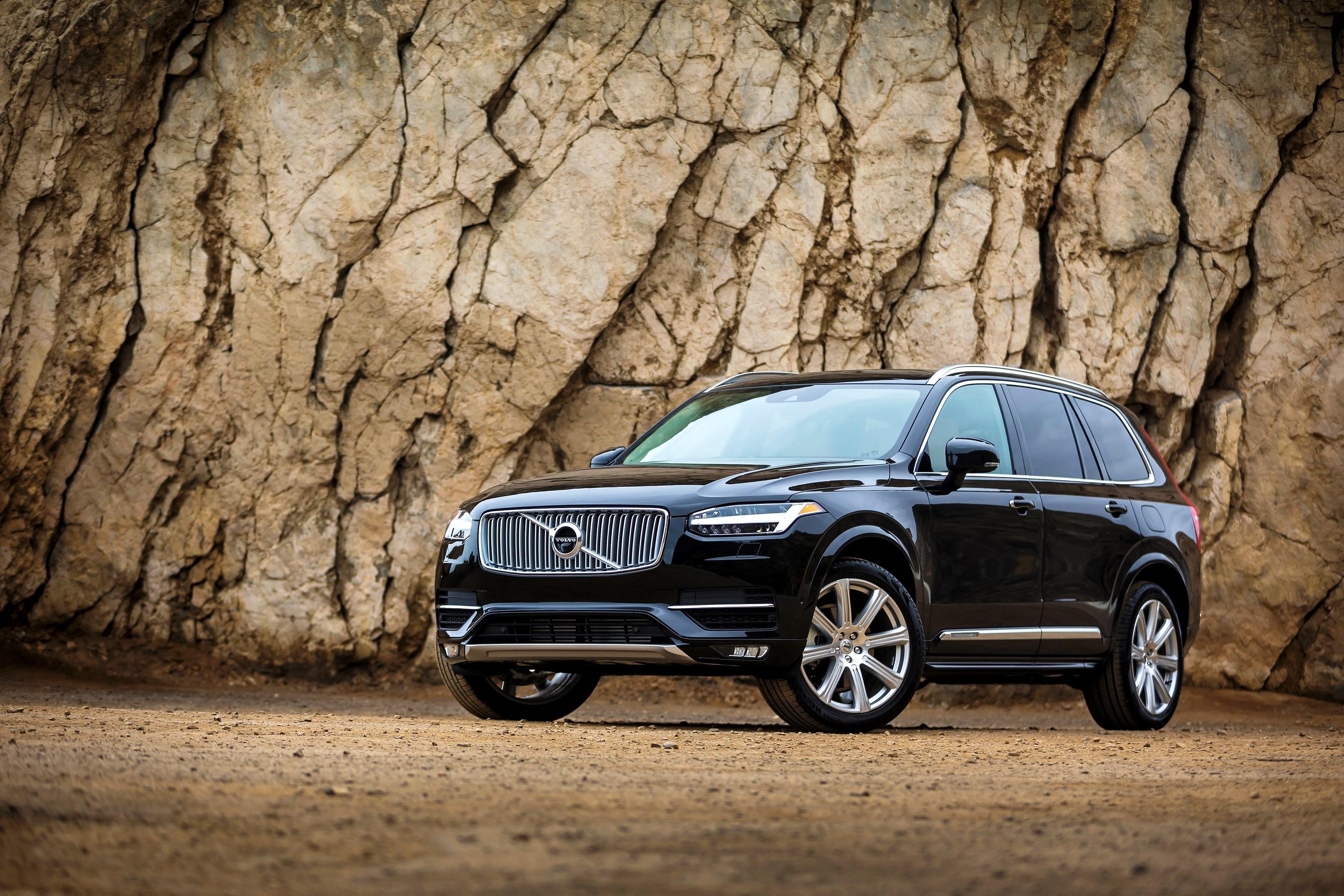 107085 скачать обои Xc90, Вольво (Volvo), Тачки (Cars), Черный, Вид Сбоку, Awd - заставки и картинки бесплатно