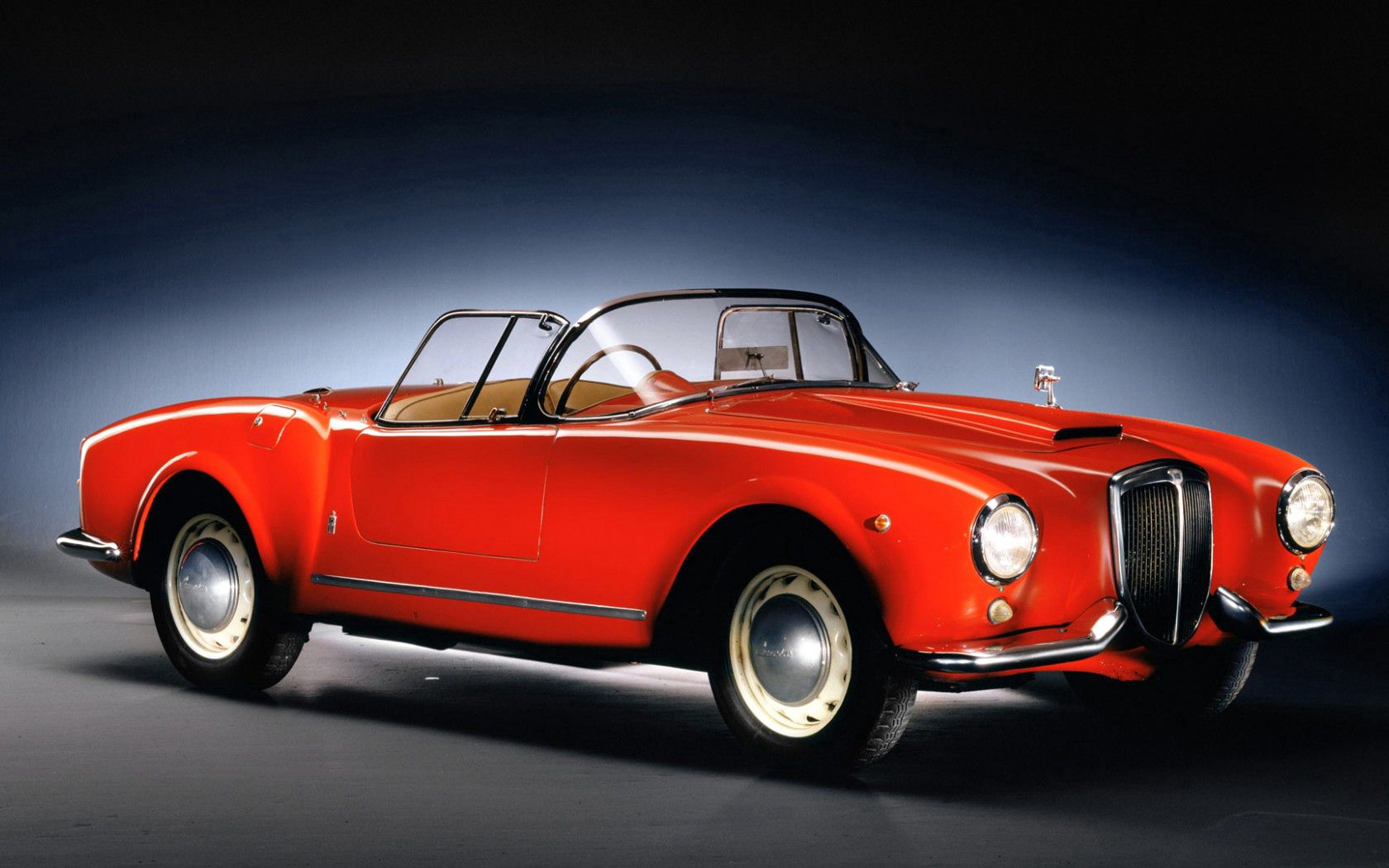 65212 Screensavers and Wallpapers Retro for phone. Download Cars, Lancia Aurelia, Cabriolet, Retro pictures for free