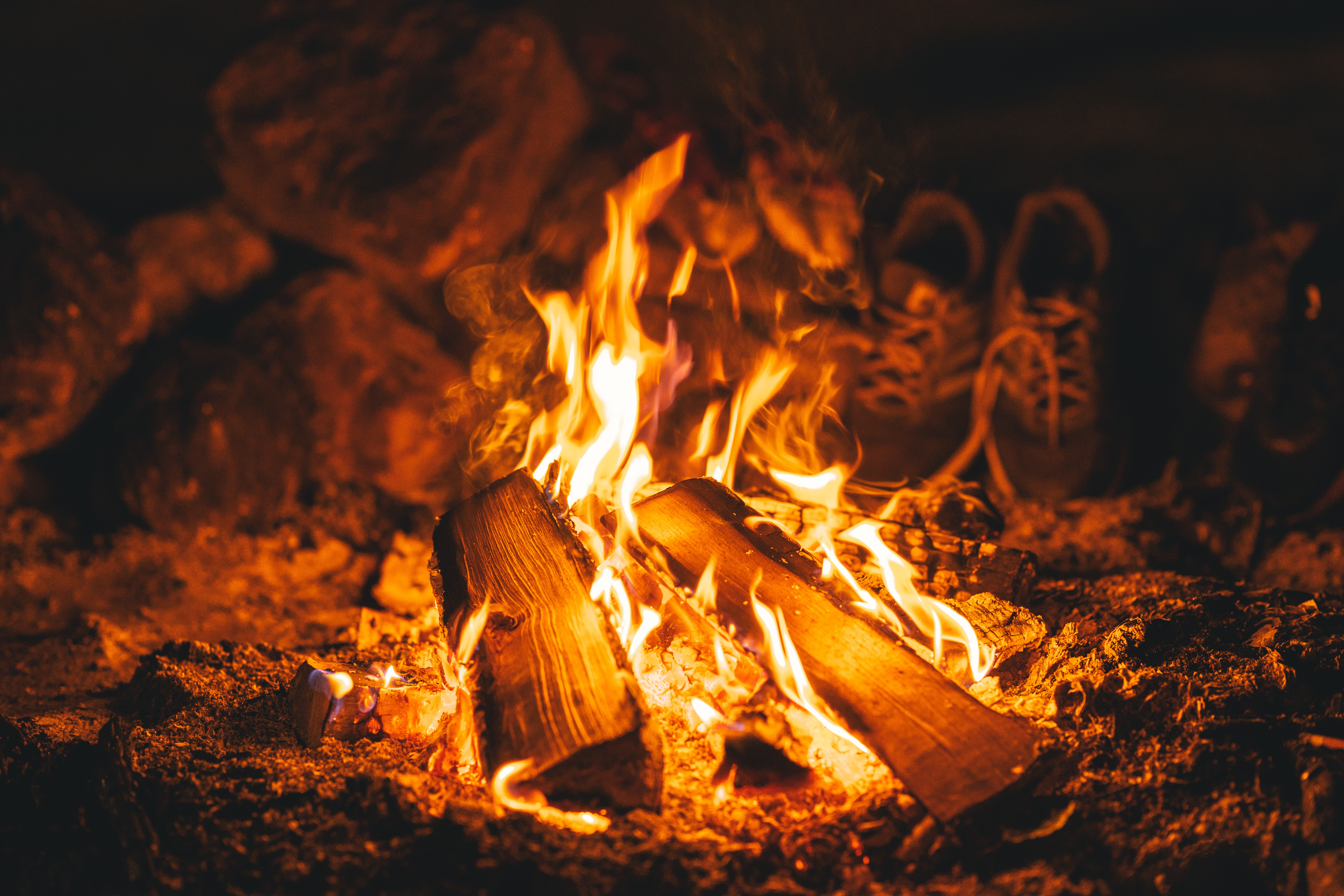 145507 Screensavers and Wallpapers Bonfire for phone. Download Fire, Bonfire, Coals, Flame, Miscellanea, Miscellaneous, Firewood, To Burn, Burn pictures for free