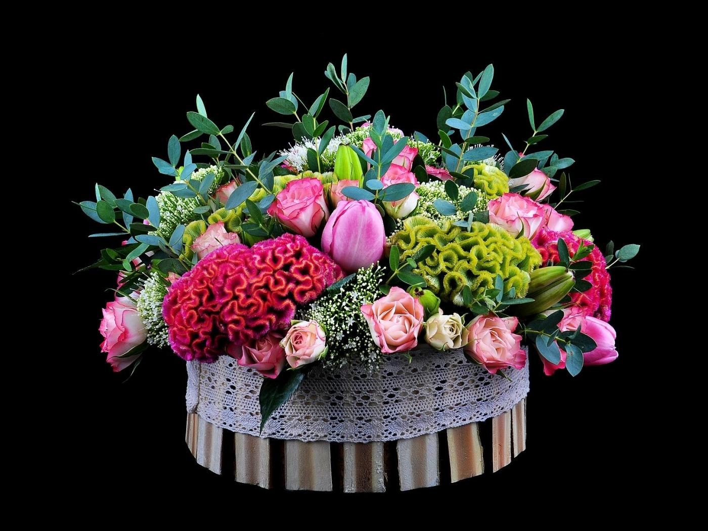 28516 скачать обои Растения, Цветы, Фон, Букеты - заставки и картинки бесплатно