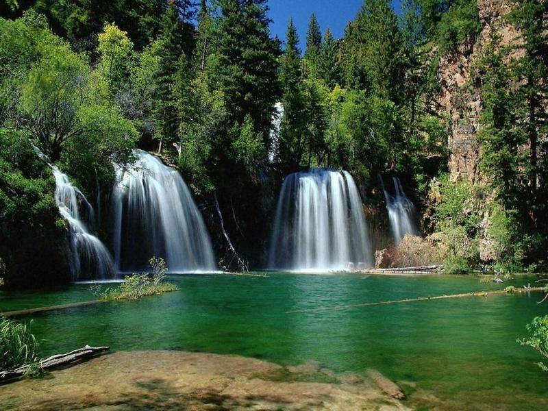 40879 скачать обои Водопады, Пейзаж - заставки и картинки бесплатно