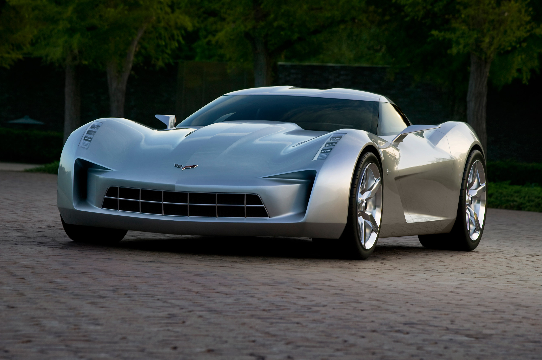148767 скачать обои Тачки (Cars), Шевроле (Chevrolet), Corvette, Stingray, Серый, Машины - заставки и картинки бесплатно