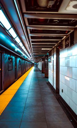 121081 descargar fondo de pantalla Miscelánea, Misceláneo, Estación, Metro, Bajo Tierra, Subterráneo, Transporte, Plataforma: protectores de pantalla e imágenes gratis